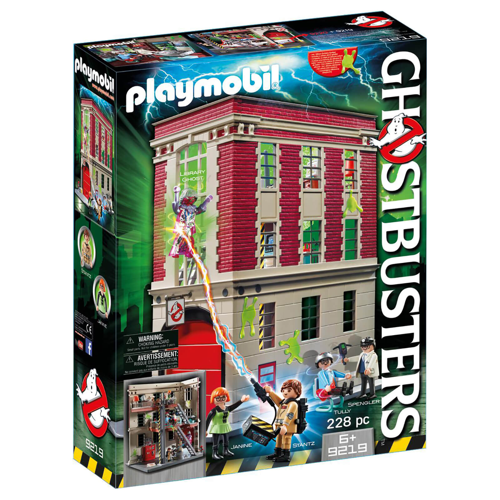 Playmobil Ghostbusters™ Firehouse (9219)