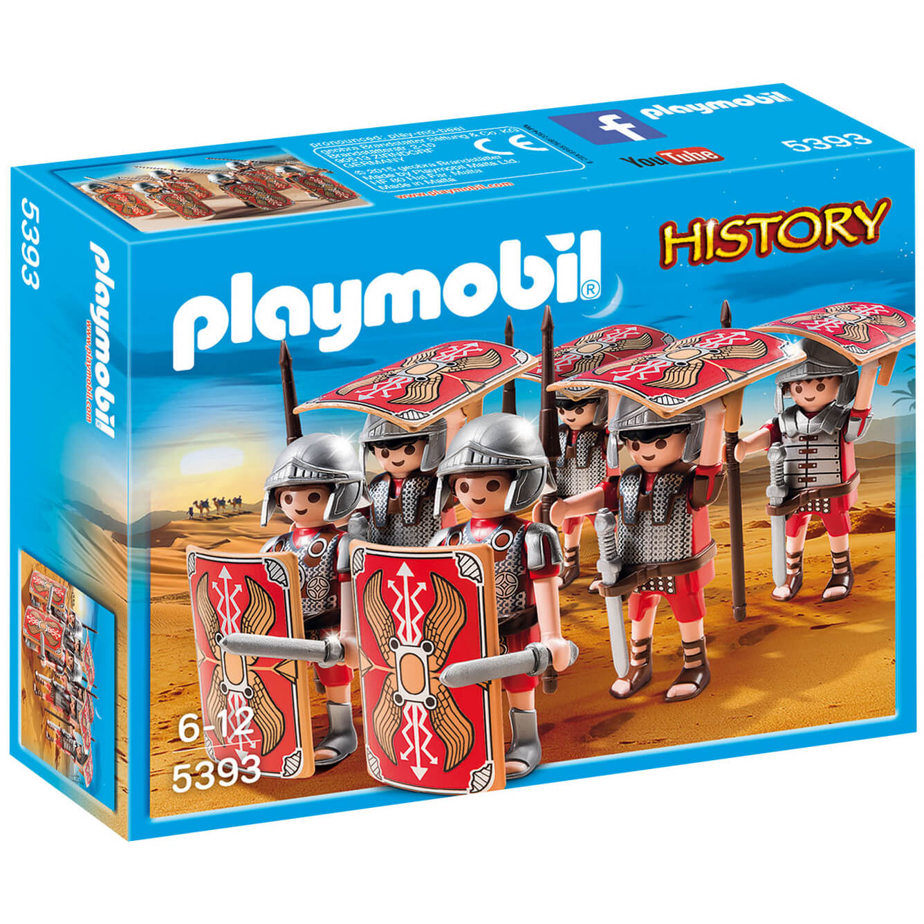 Playmobil History Roman Troop (5393)