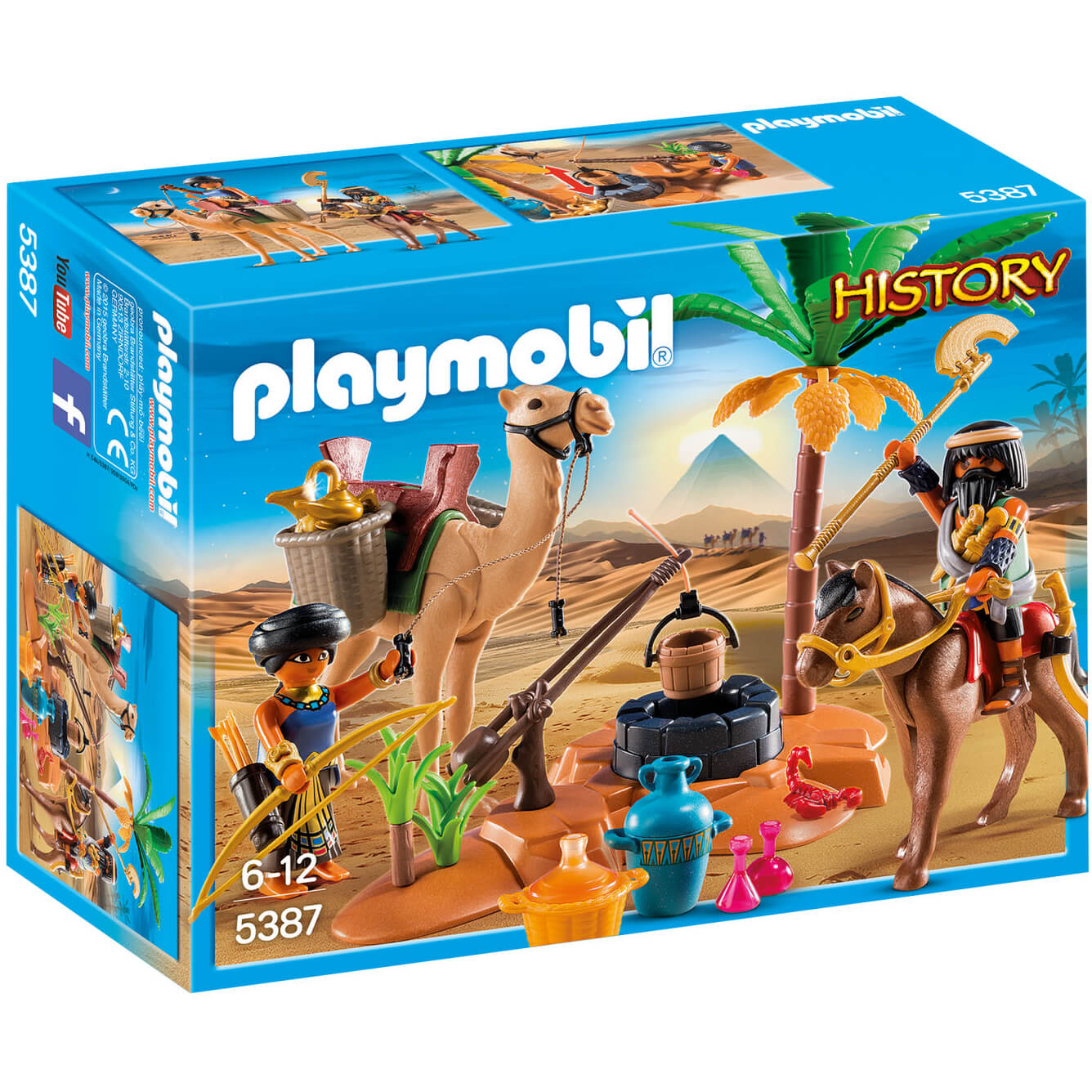 Playmobil History Egyptian Tomb Raiders