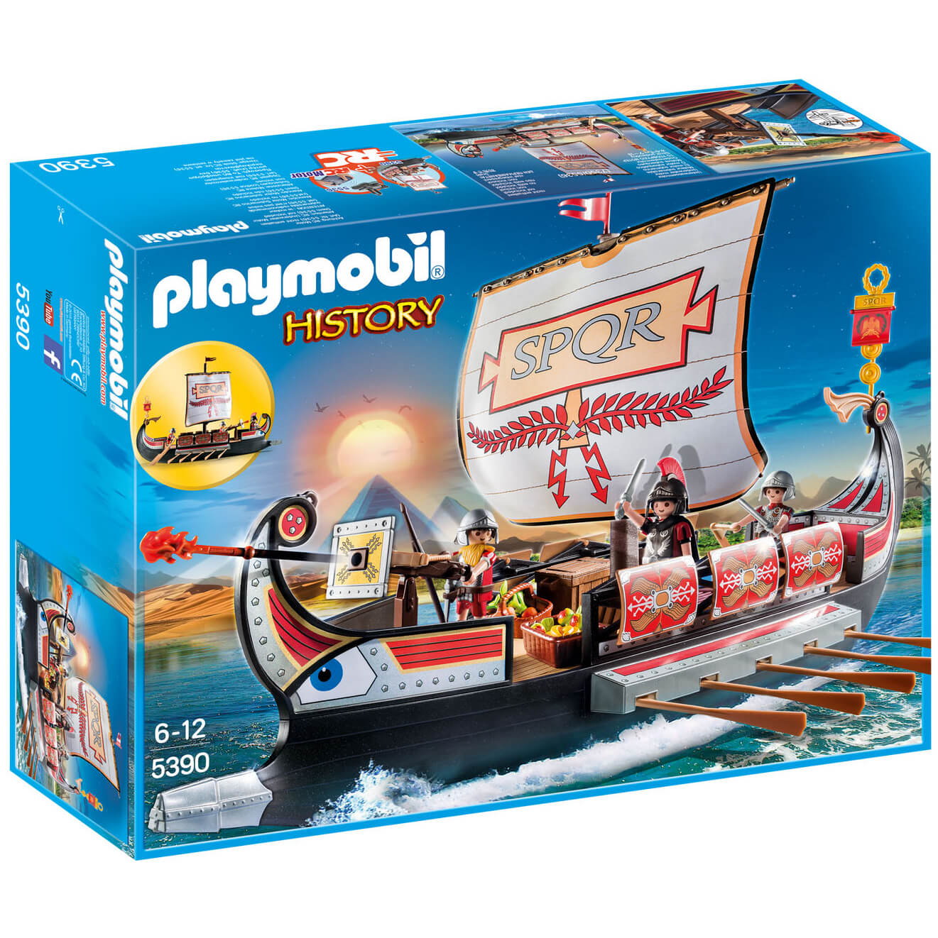 Playmobil History Floating Roman Warriors