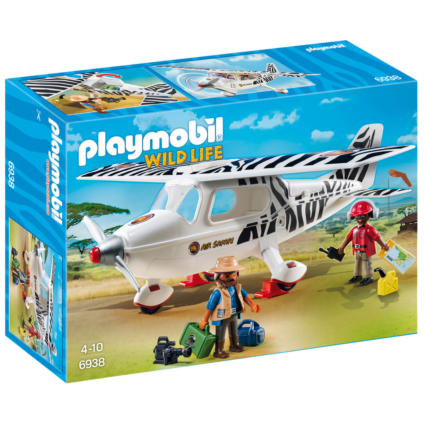 Avion avec explorateurs - Playmobil (6938)