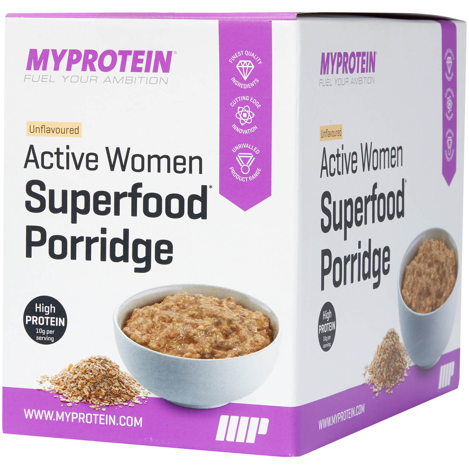 Active Women Superfood Porridge - Unflavoured, 20 x 40g