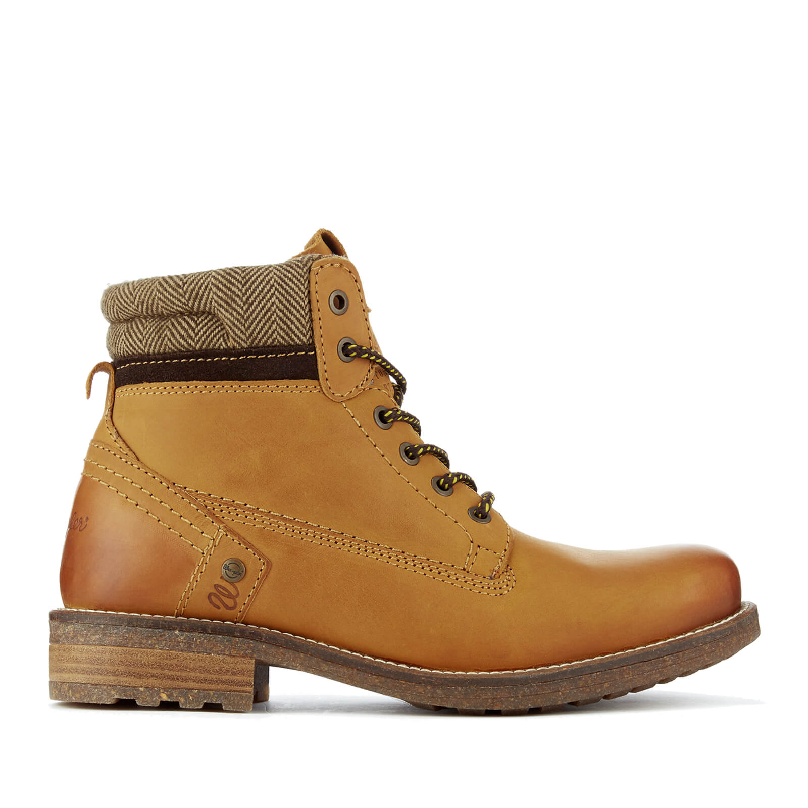 88358bea442 Wrangler Men's Hill Tweed Lace Up Boots - Camel
