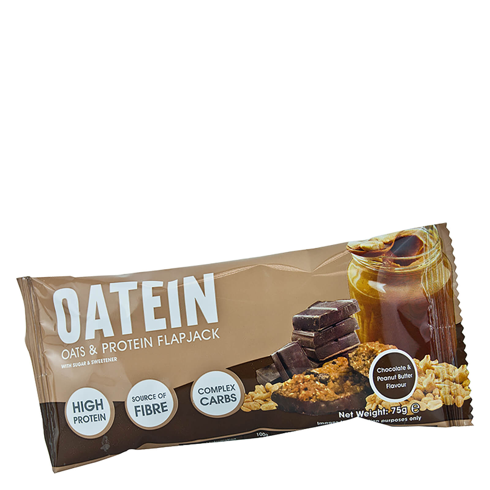 Oatein Chocolate Peanut Butter Flapjack Bar