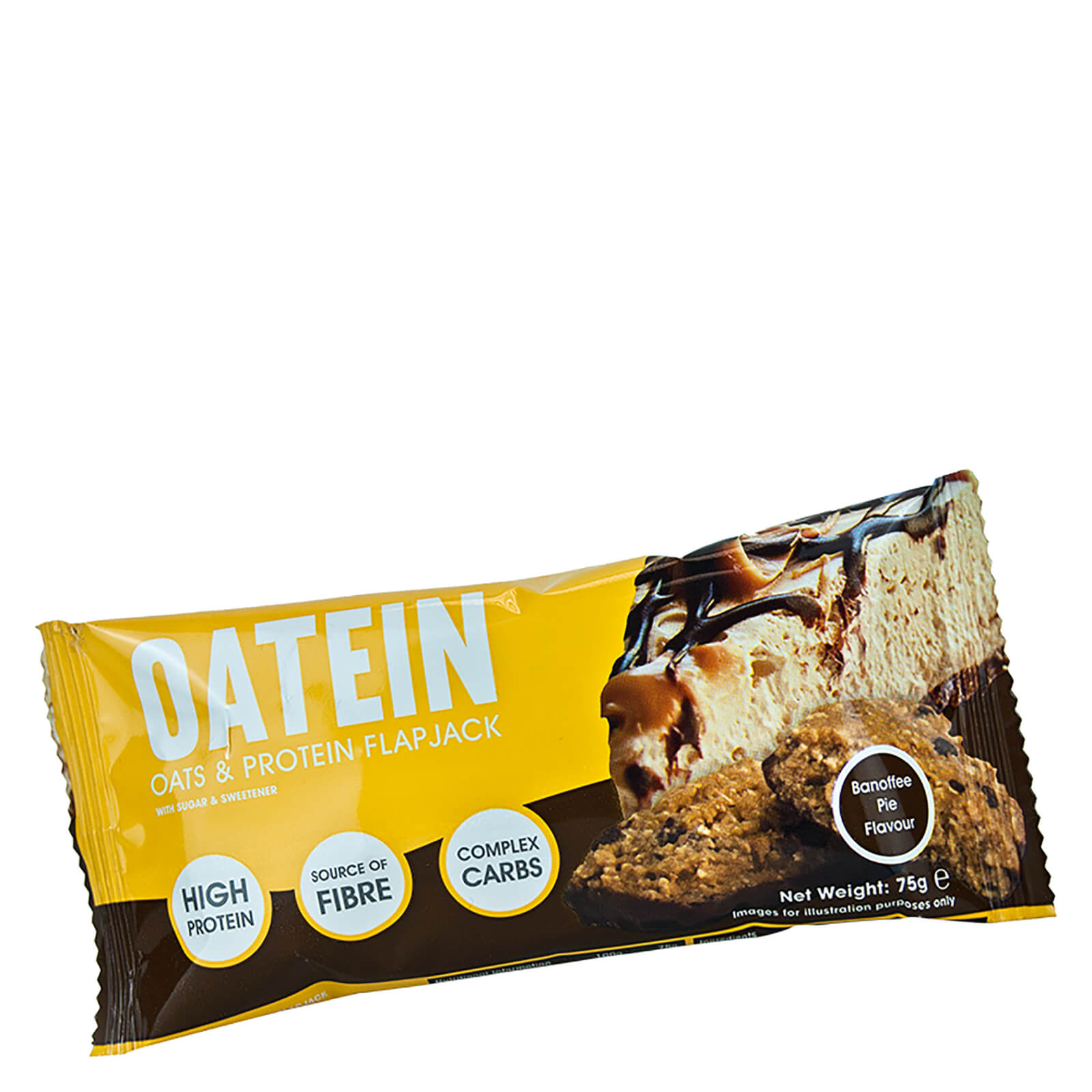 Oatein Banoffee Pie Flapjack Bar