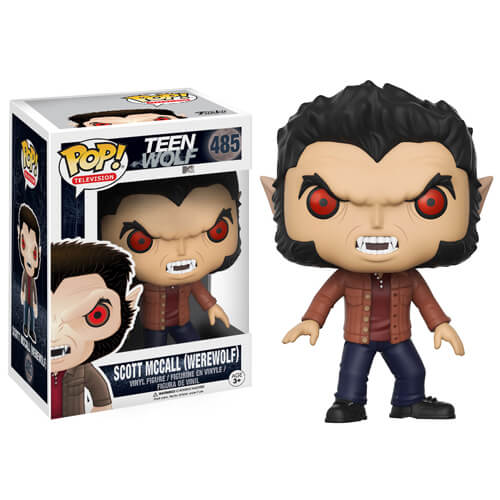 Teen Wolf Scott McCall Werewolf Pop! Vinyl Figure