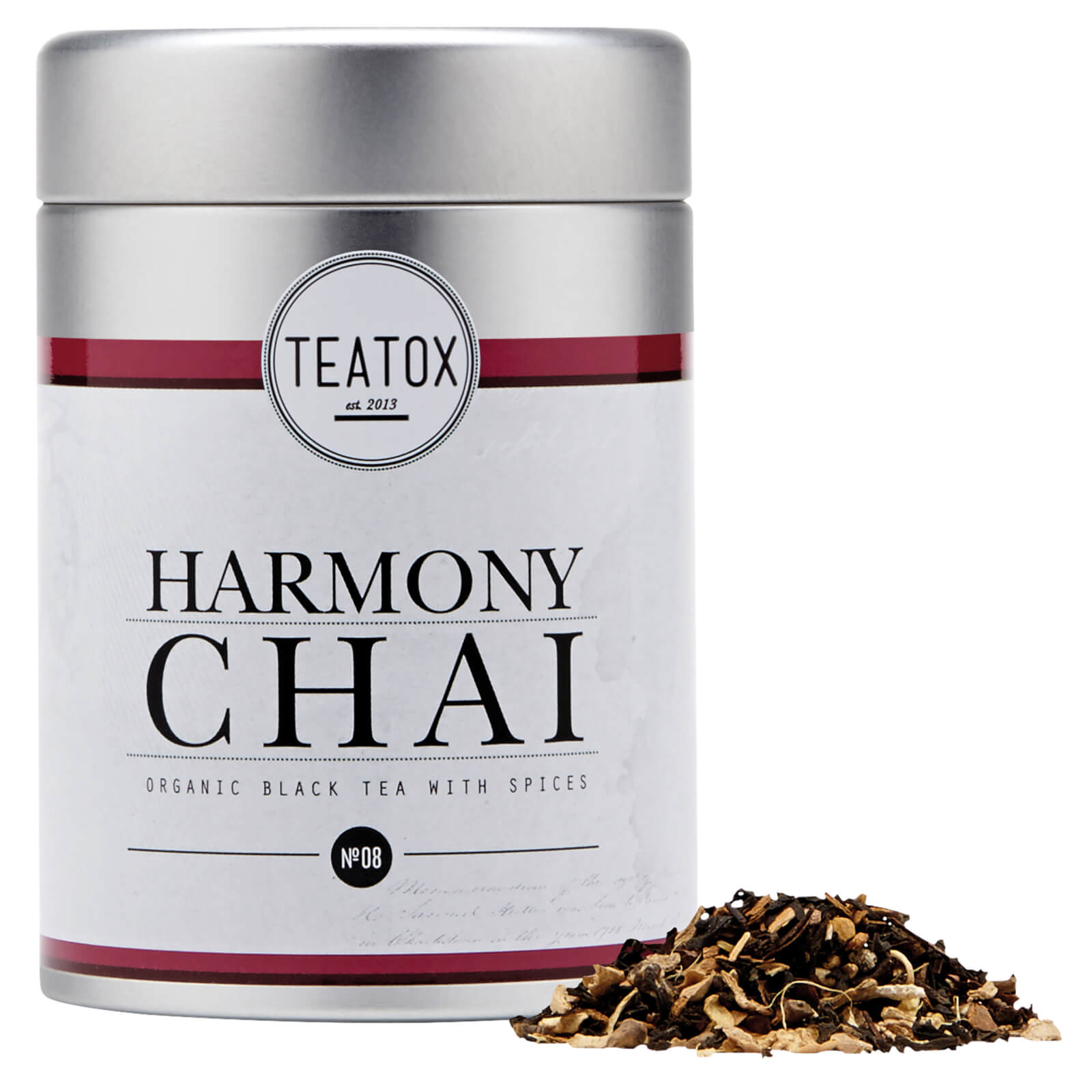Teatox Harmony Chai Organic Black Tea with Spices (90g)