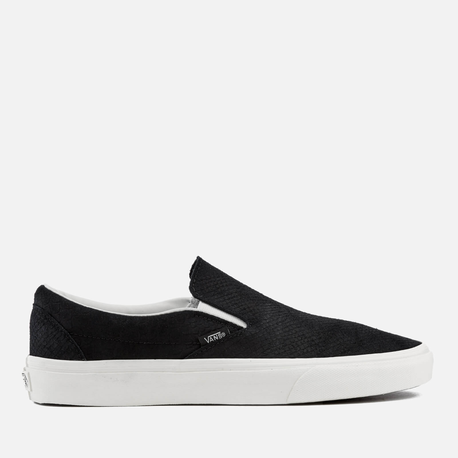 490ac0580e Vans Men s Classic Snake Slip-On Trainers - Black Blanc - Free UK Delivery  over £50