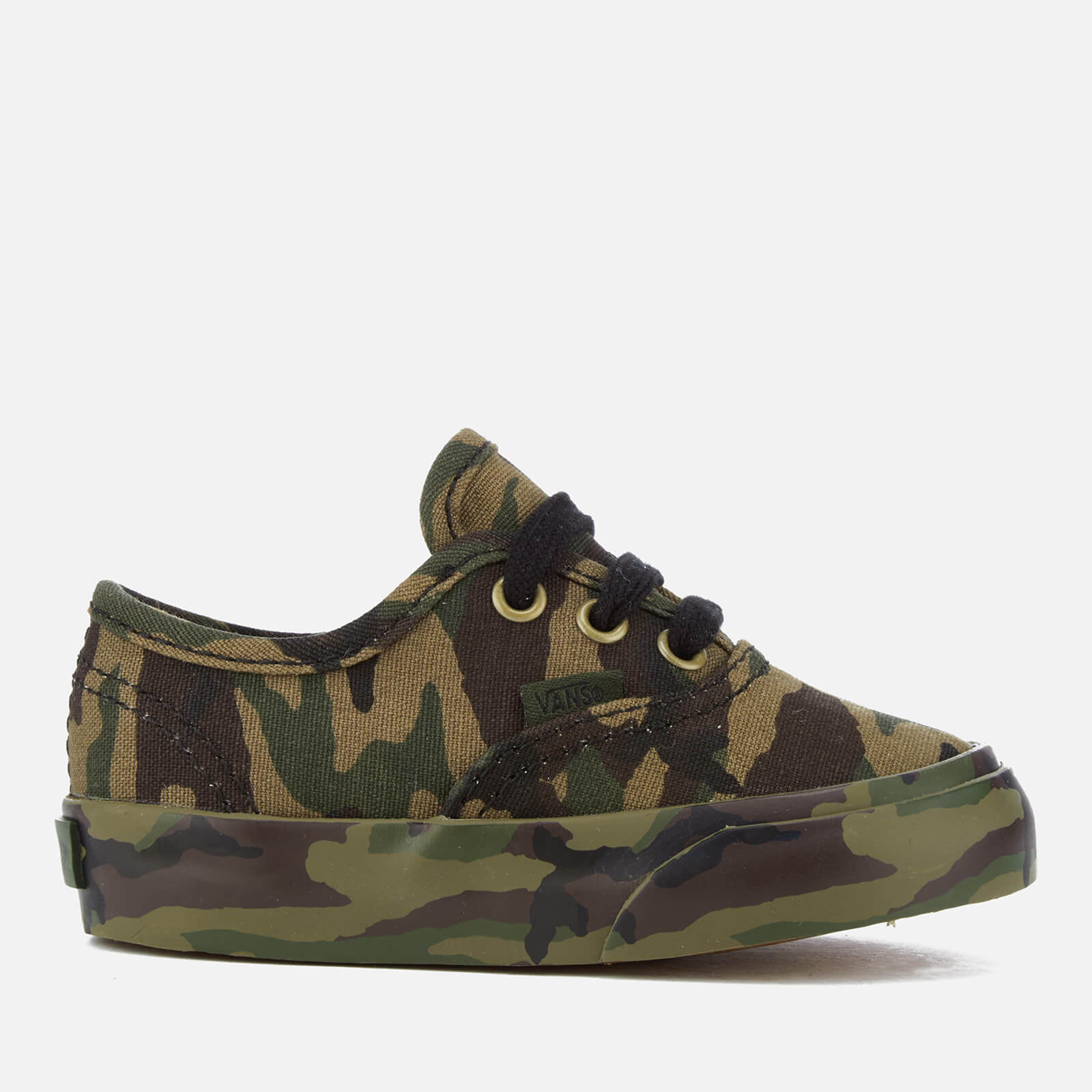 669ec3a9c61596 Vans Toddlers  Authentic Mono Print Trainers - Classic Camo Junior Clothing