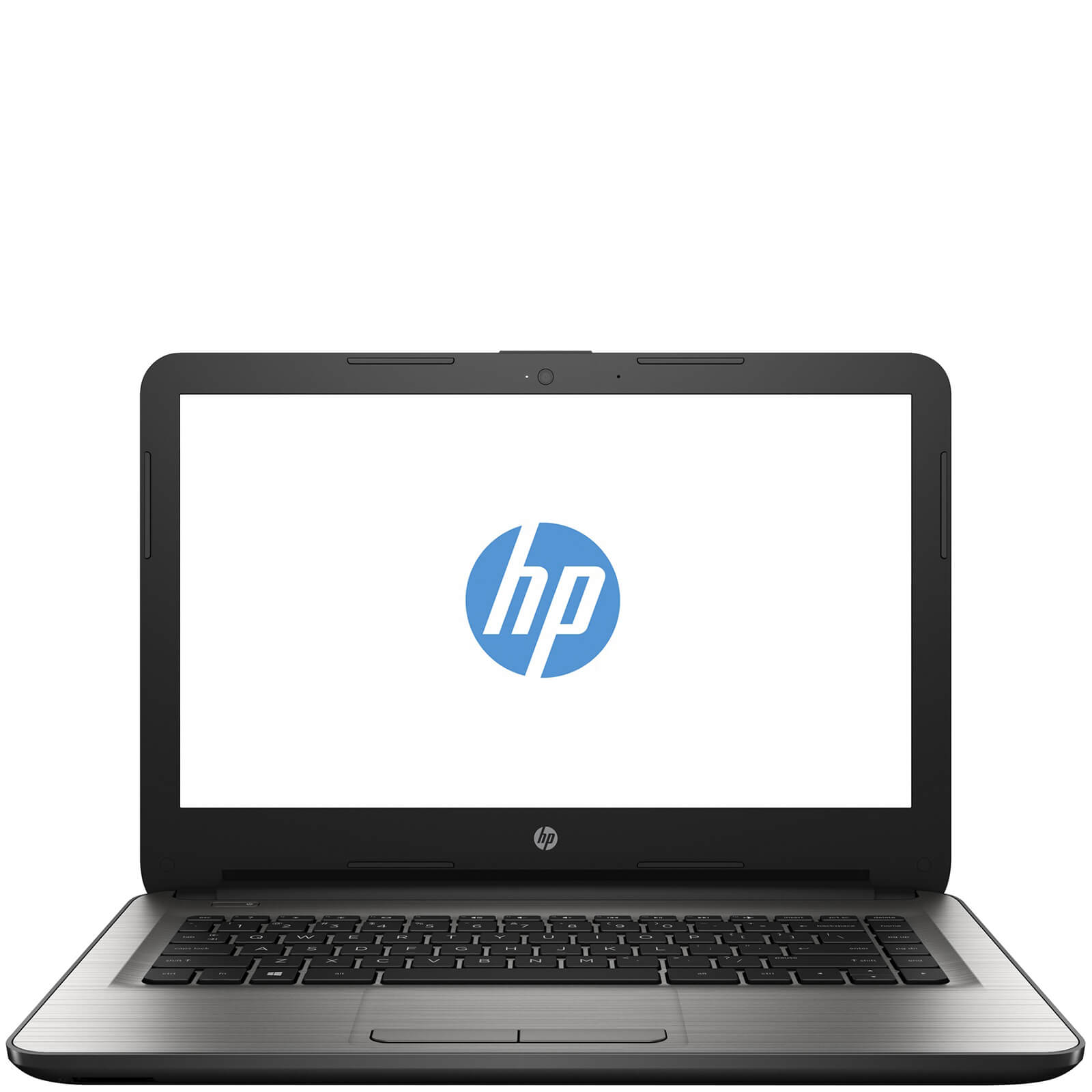 "HP 14-AM003NA 14"""" Laptop (Intel Pentium N3710, 4GB, 1TB, 1.6GHz, Windows 10) - Silver - Manufacturer Refurbished"
