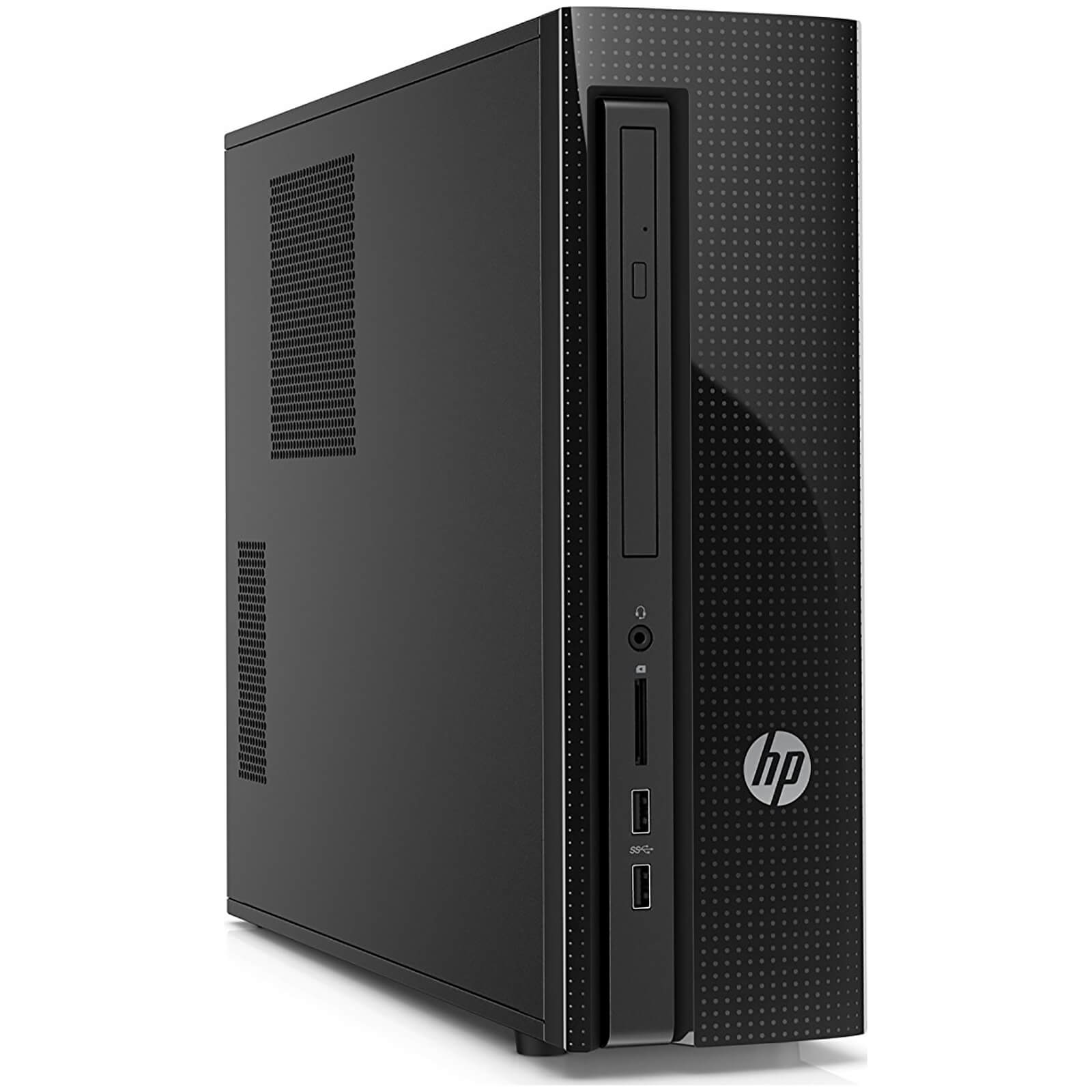 HP 411-A025NA Desktop (Intel N3700, 8GB, 1TB, 2.4Ghz, Windows 10) - Manufacturer Refurbished