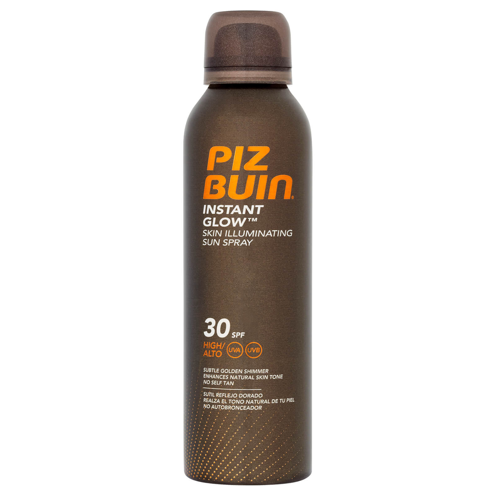 4054ad6eb631 Piz Buin Instant Glow Skin Illuminating Sun Spray SPF30 150ml