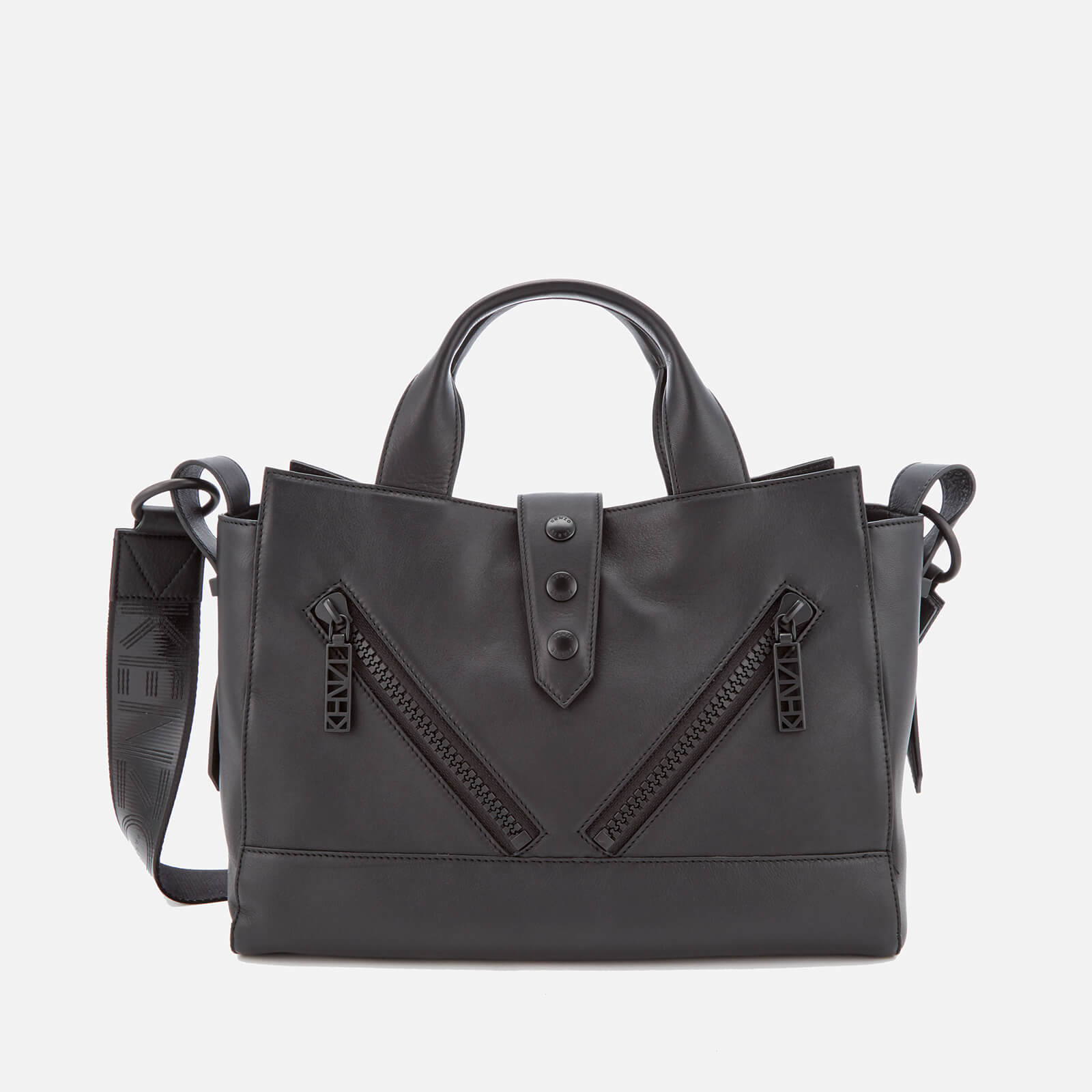fe18b376 KENZO Women's Sport Medium Kalifornia Tote Bag - Black - Free UK Delivery  over £50