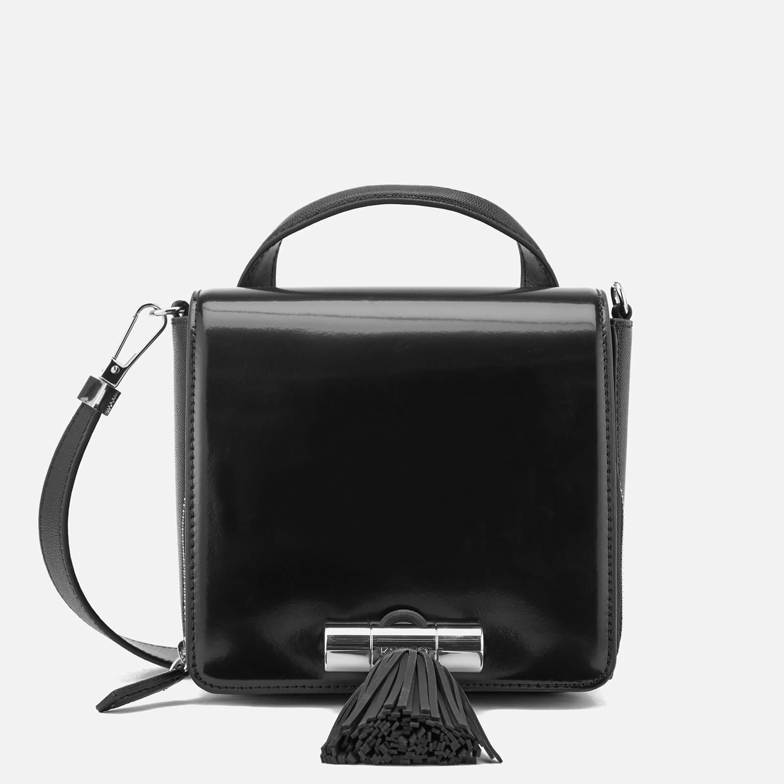 0b5f440fc3 KENZO Women's Sailor Small Top Handle Cross Body Bag - Black - Free UK  Delivery over £50