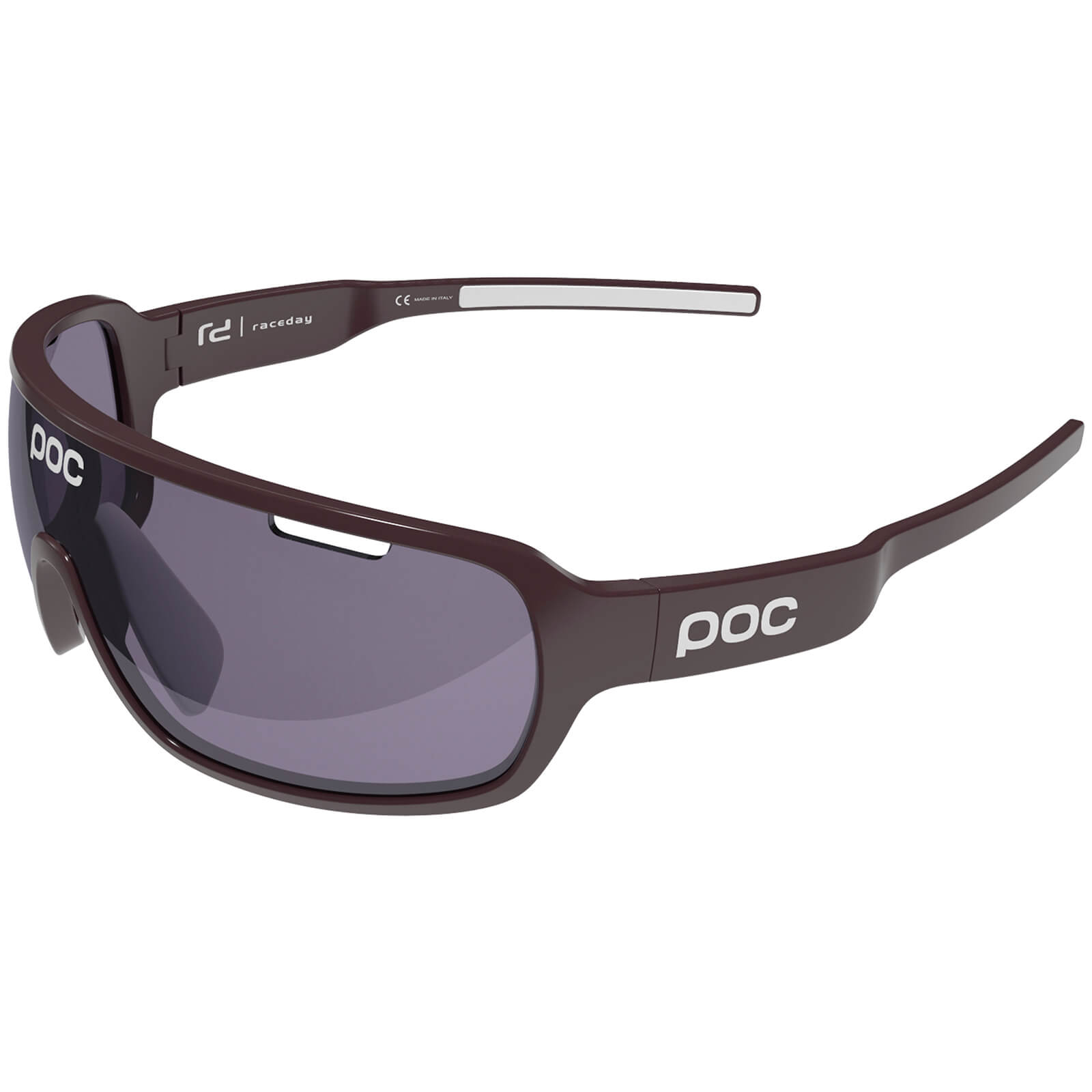 POC DO Raceday Sunglasses - Granate Red/Hydrogen White