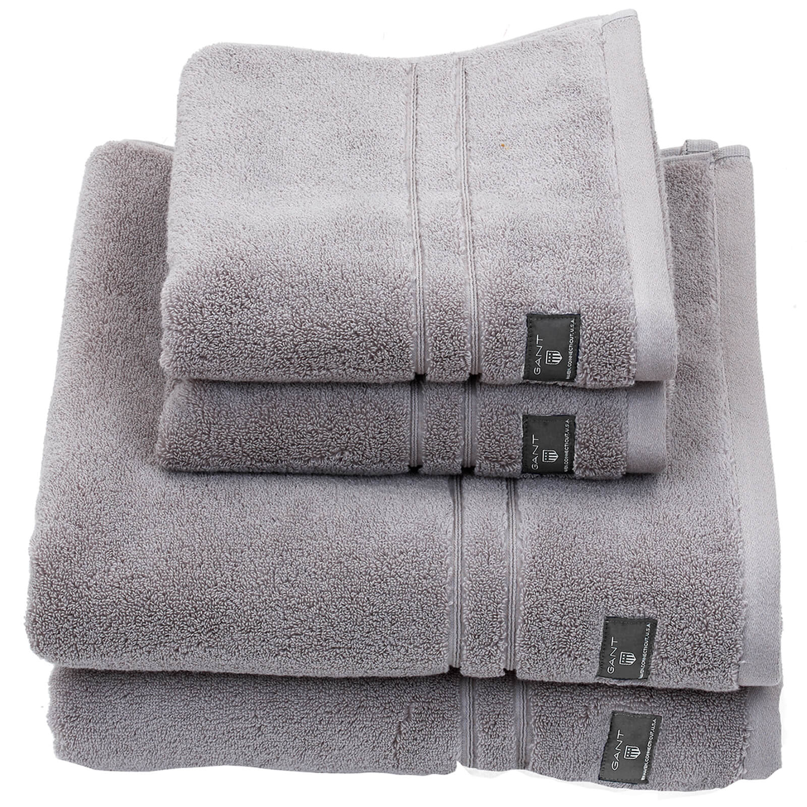 GANT Premium Terry Towel Range - Sheep Grey