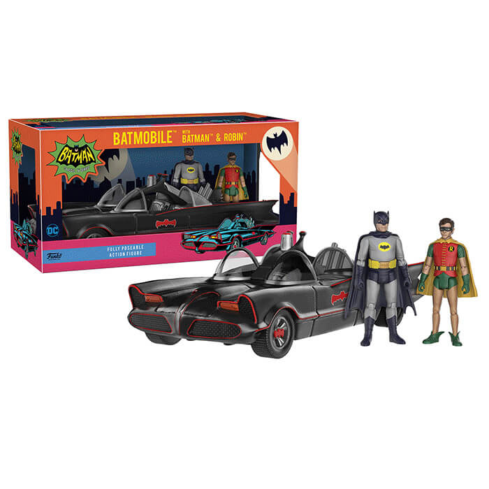 Funko DC Heroes 1966 Batmobile Vehicle Action Figure