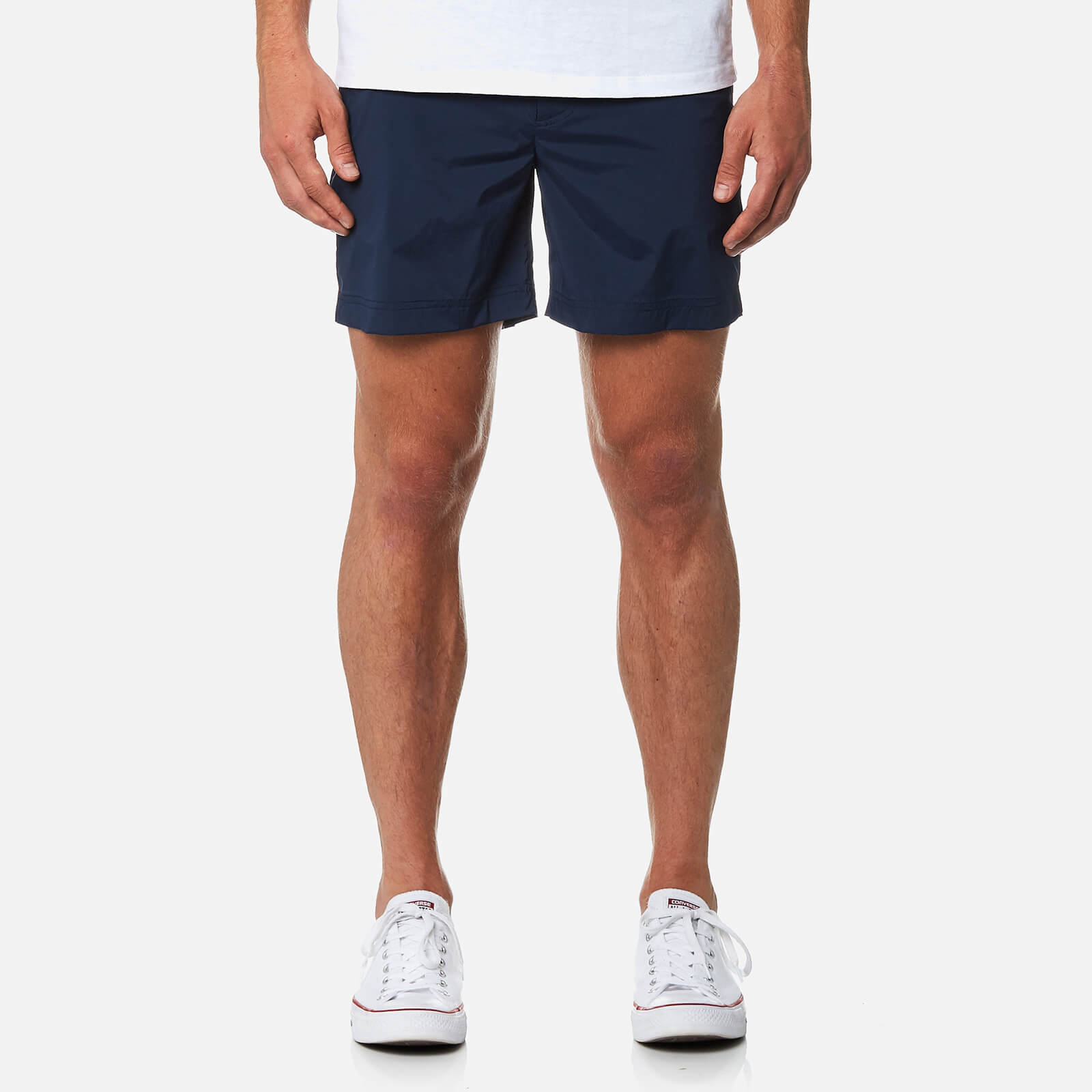 50c3fc7306f Orlebar Brown Men's Bulldog Sport Swim Shorts - Navy - Free UK Delivery  over £50
