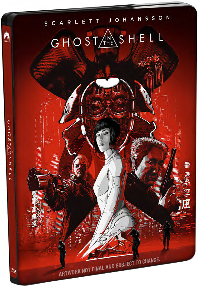 Ghost In The Shell - 4K Ultra HD Zavvi Exclusive Limited Edition Steelbook (Digital Download)