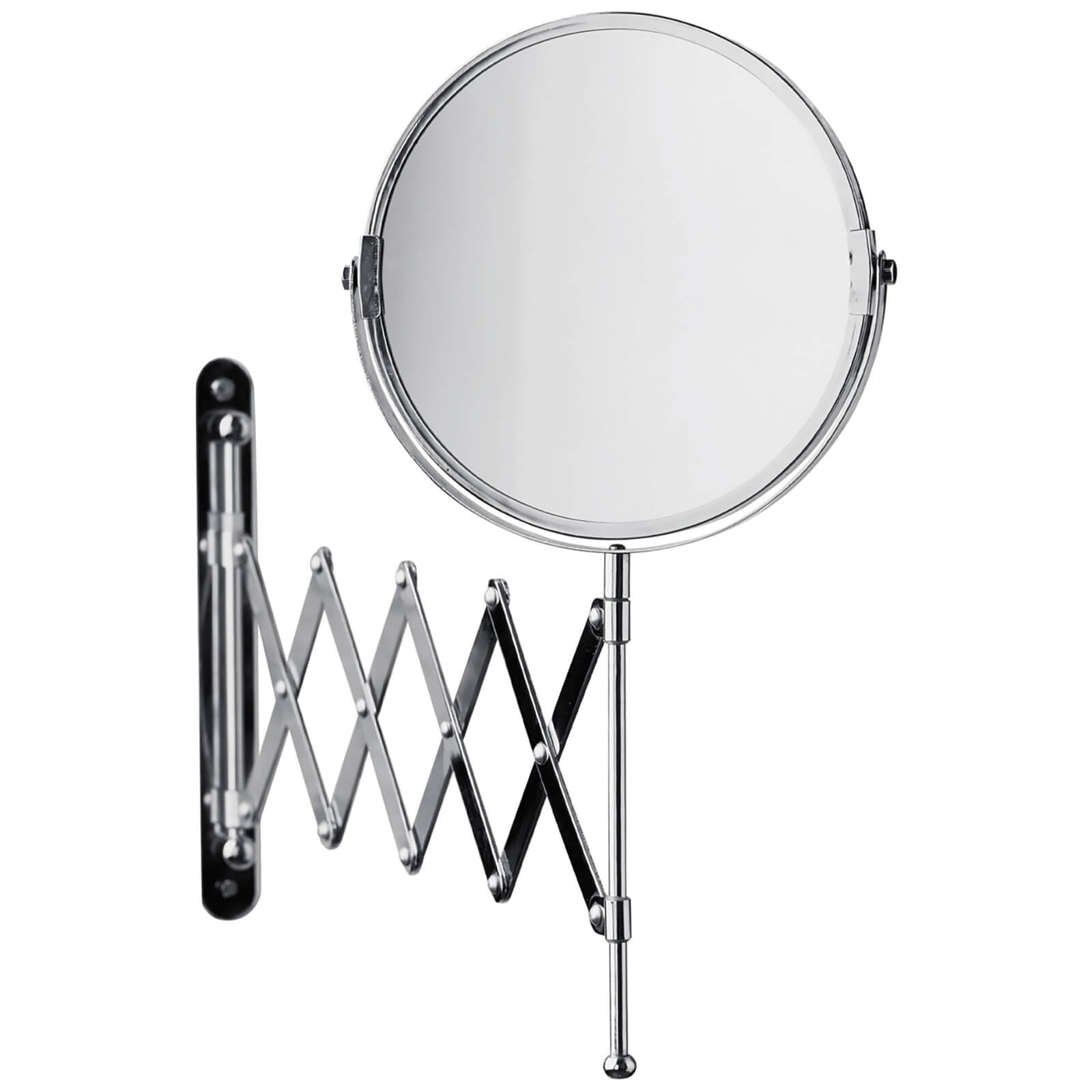 Premier Housewares Wall Mounted Mirror - Chrome