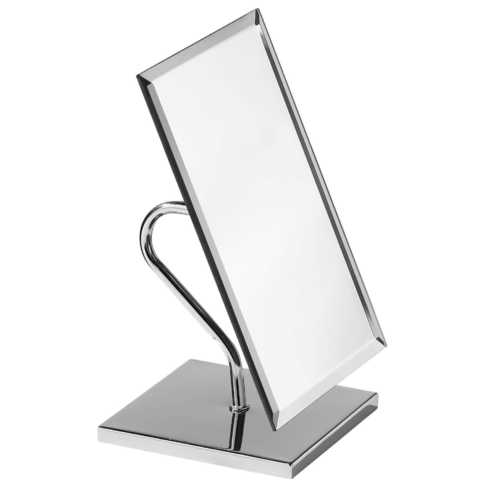 Premier Housewares Adjustable Rectangular Table Mirror - Chrome Frame