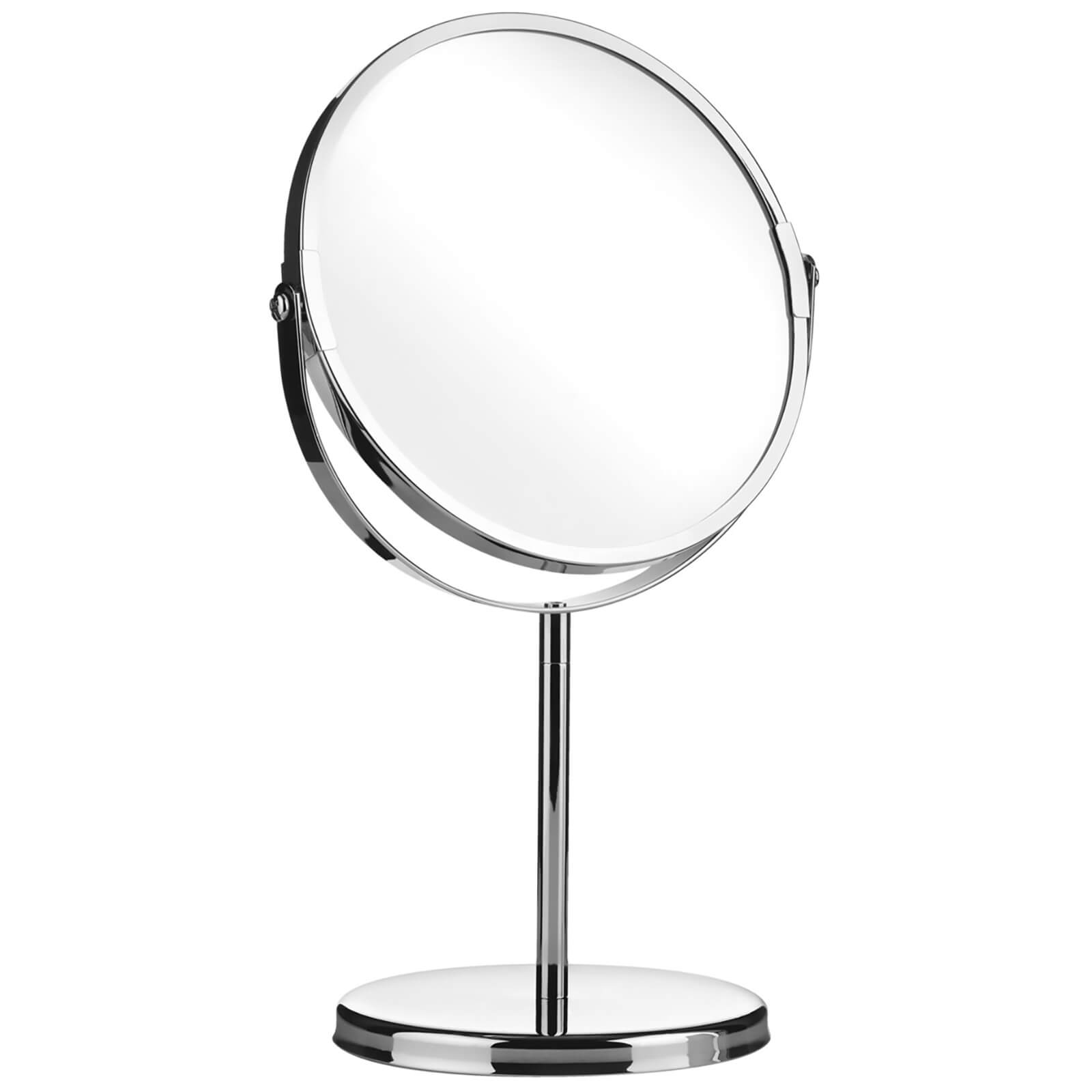Premier Housewares Magnifying Swivel Mirror - Chrome