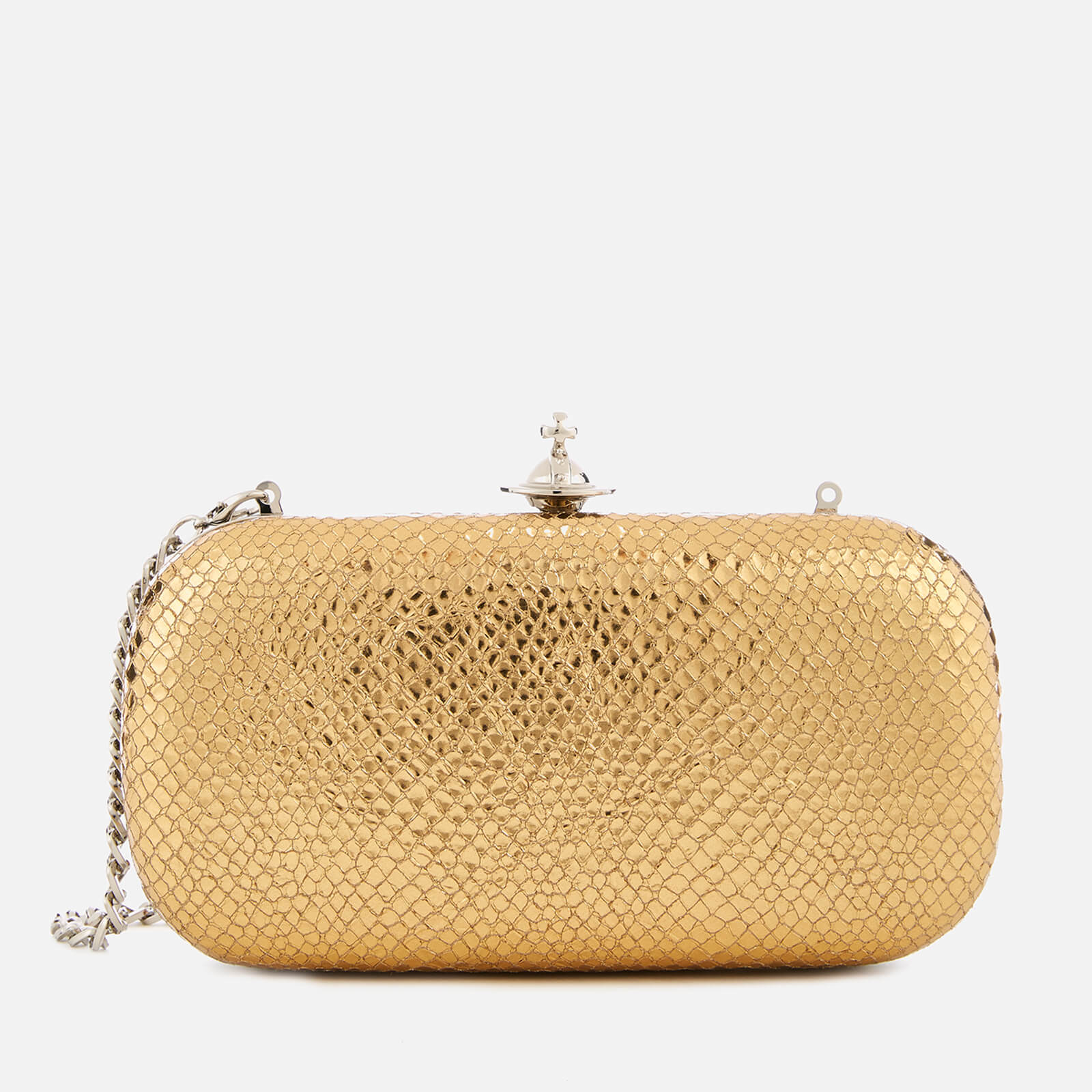 d27cbba04 Vivienne Westwood Women's Verona Medium Clutch Bag - Gold - Free UK  Delivery over £50