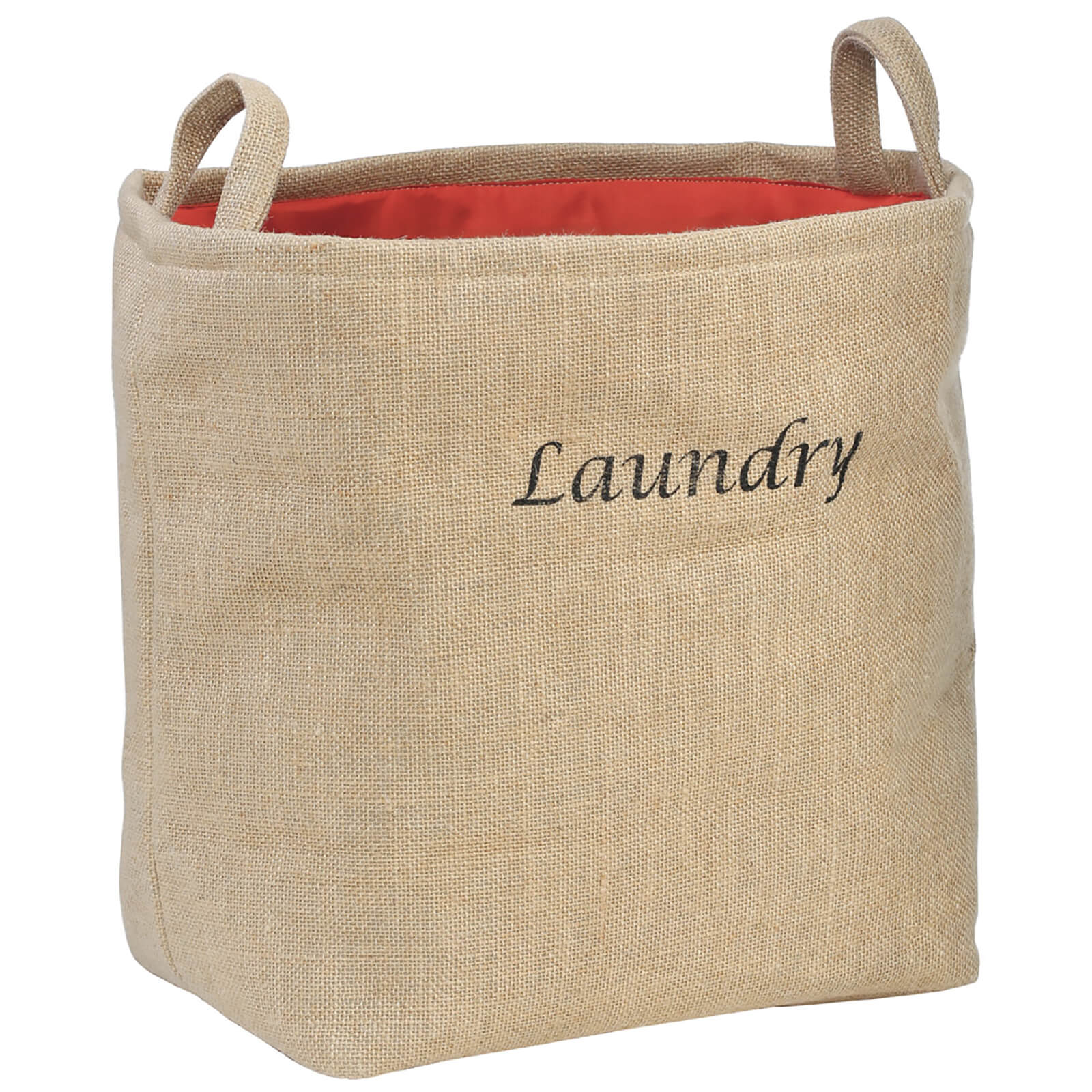 Fifty Five South Jute Hessian Laundry Bag - Natural