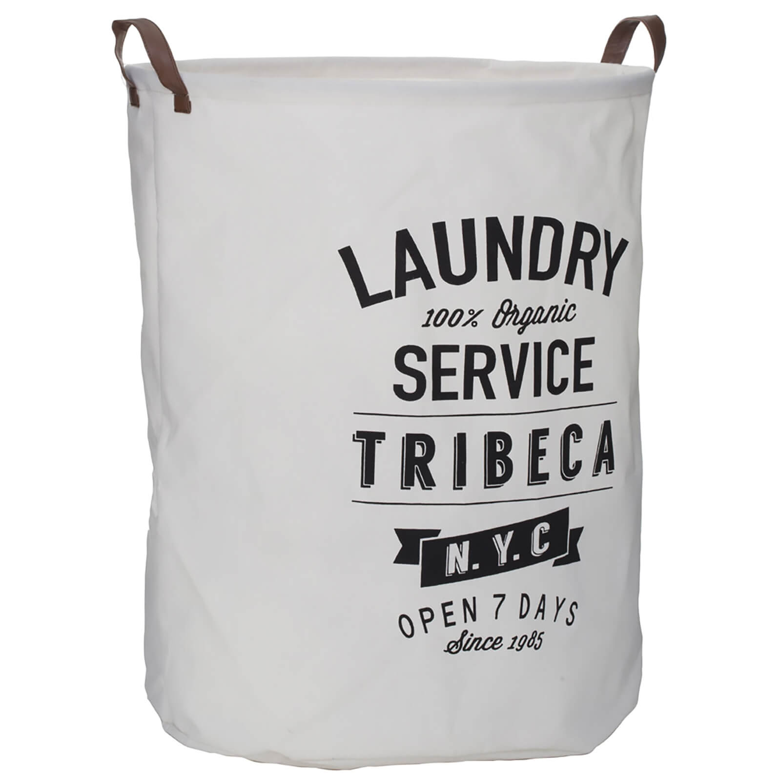 Fifty Five South Tribeca Laundry Bag - Natural/Black