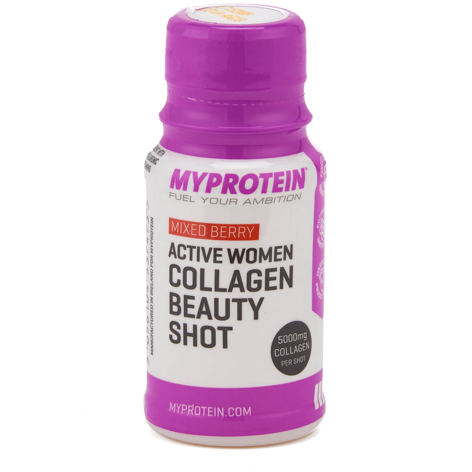 Active Women Collagen Beauty Shot (Sample) 60ml, Mixed Berry