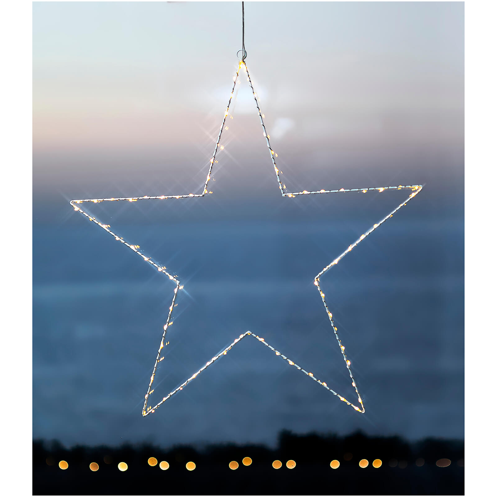 Sirius Liva Star Big Star with Timer - White