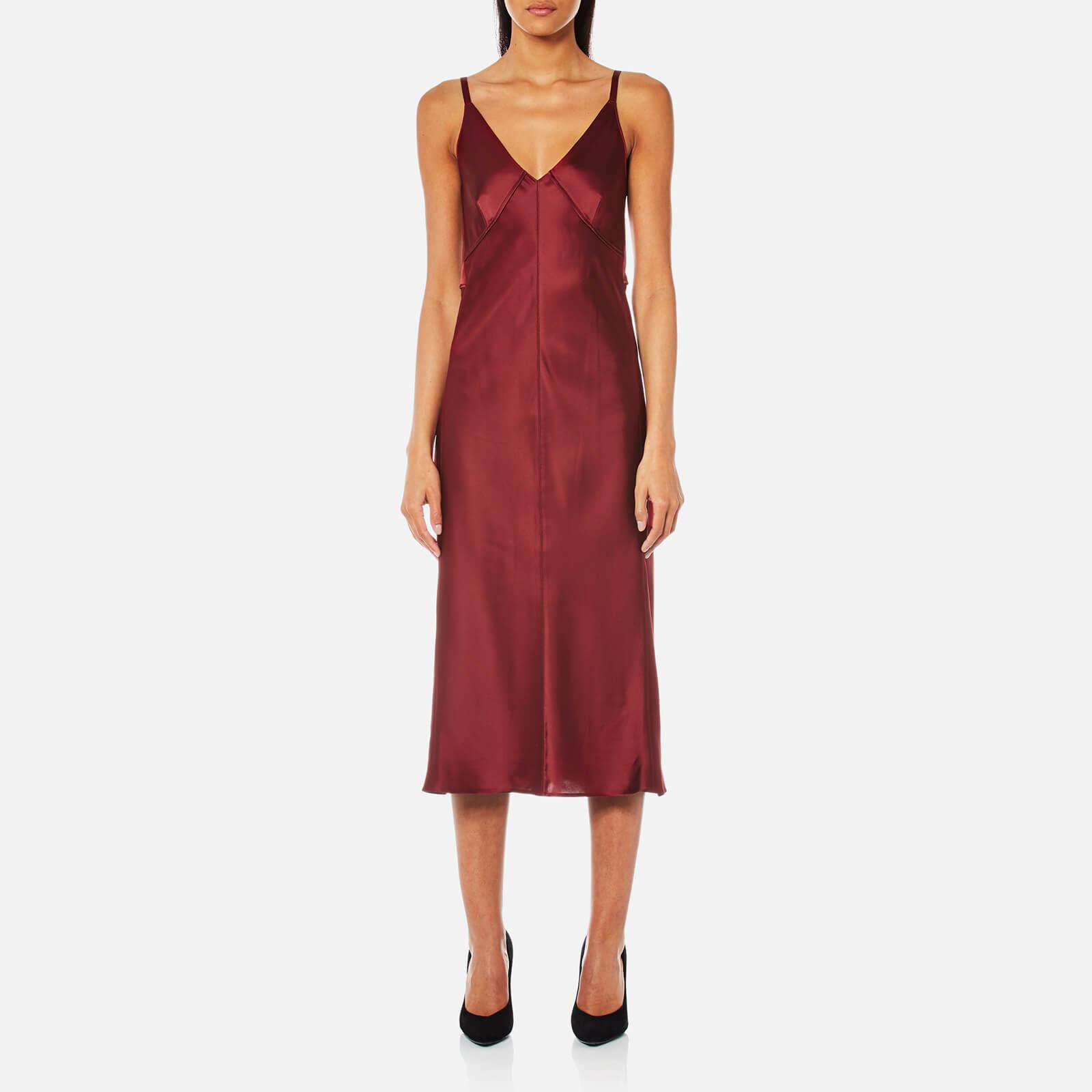 c8a8309bc1ff Helmut Lang Women's Deconstructed Slip Dress - Ruby - Free UK ...