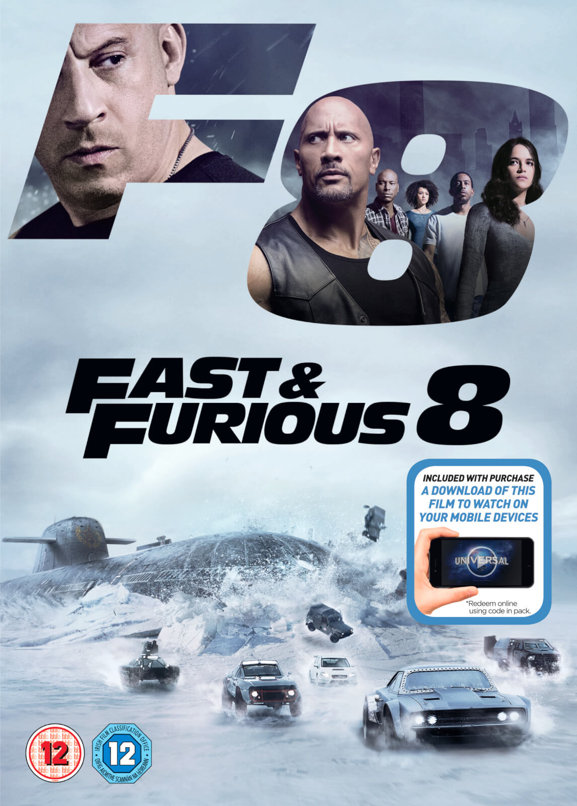 Fast & Furious 8 (Includes Digital Download)