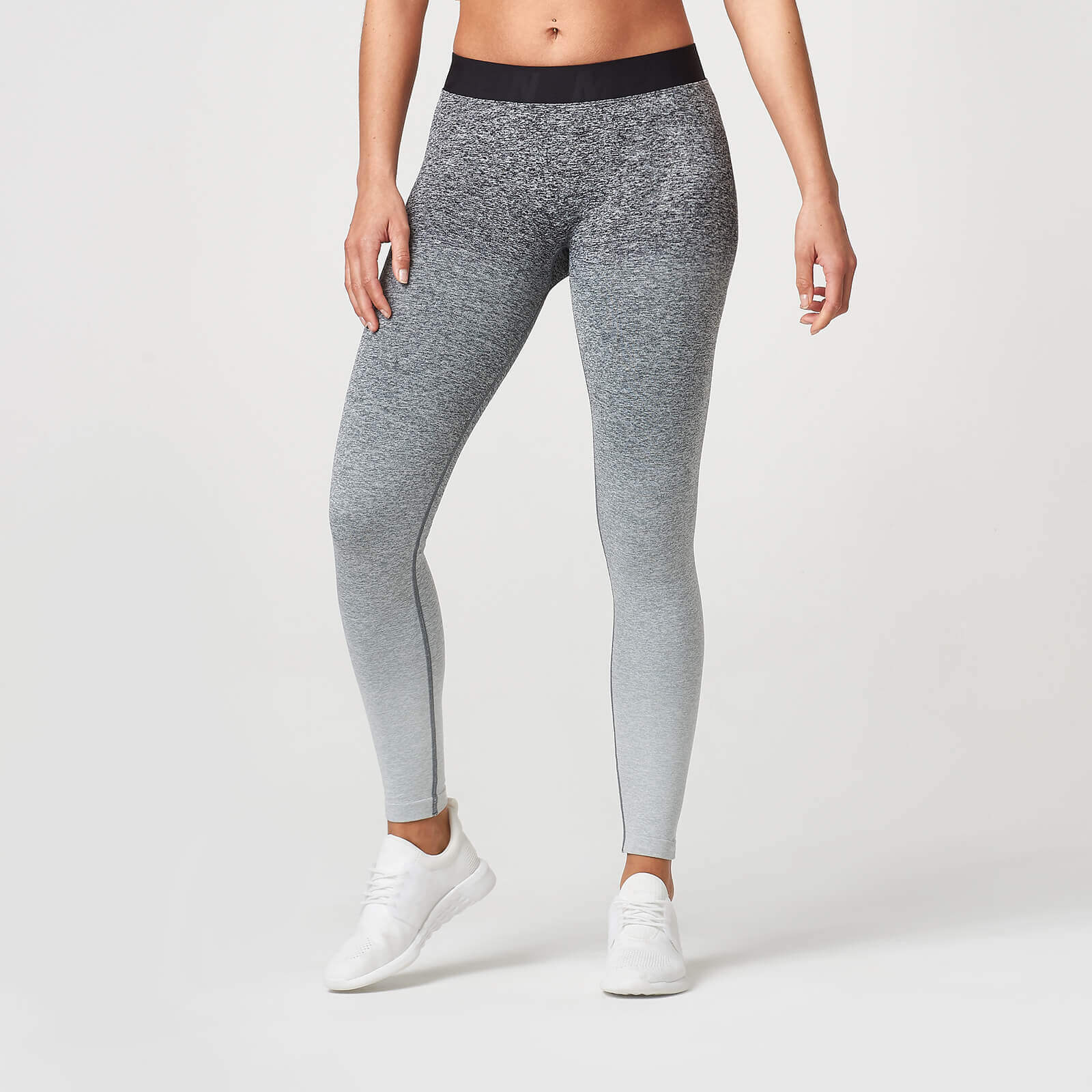 Myprotein Ombre Seamless Leggings - Black - L