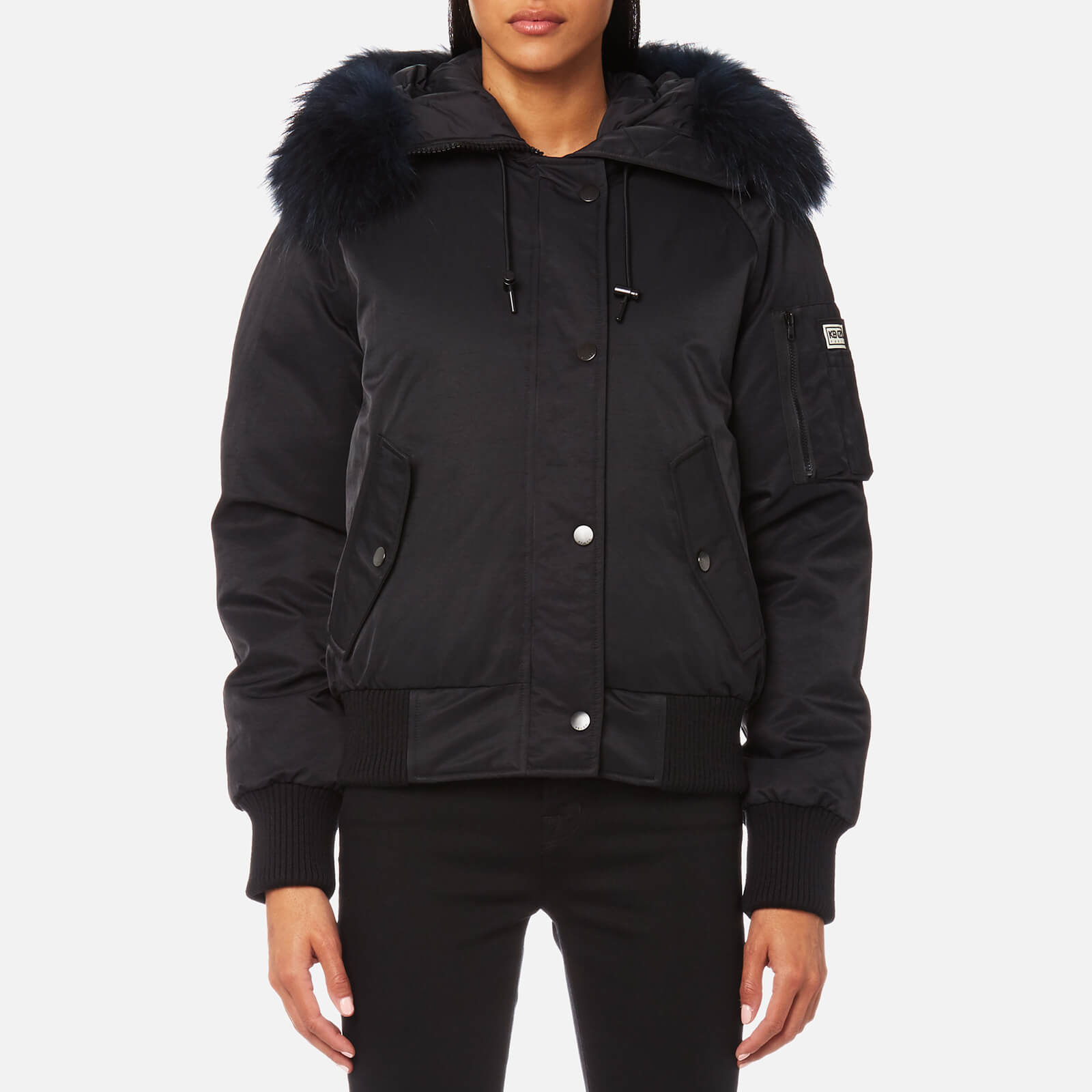 f943947b KENZO Women's Technical Outerwear Bomber Jacket - Black