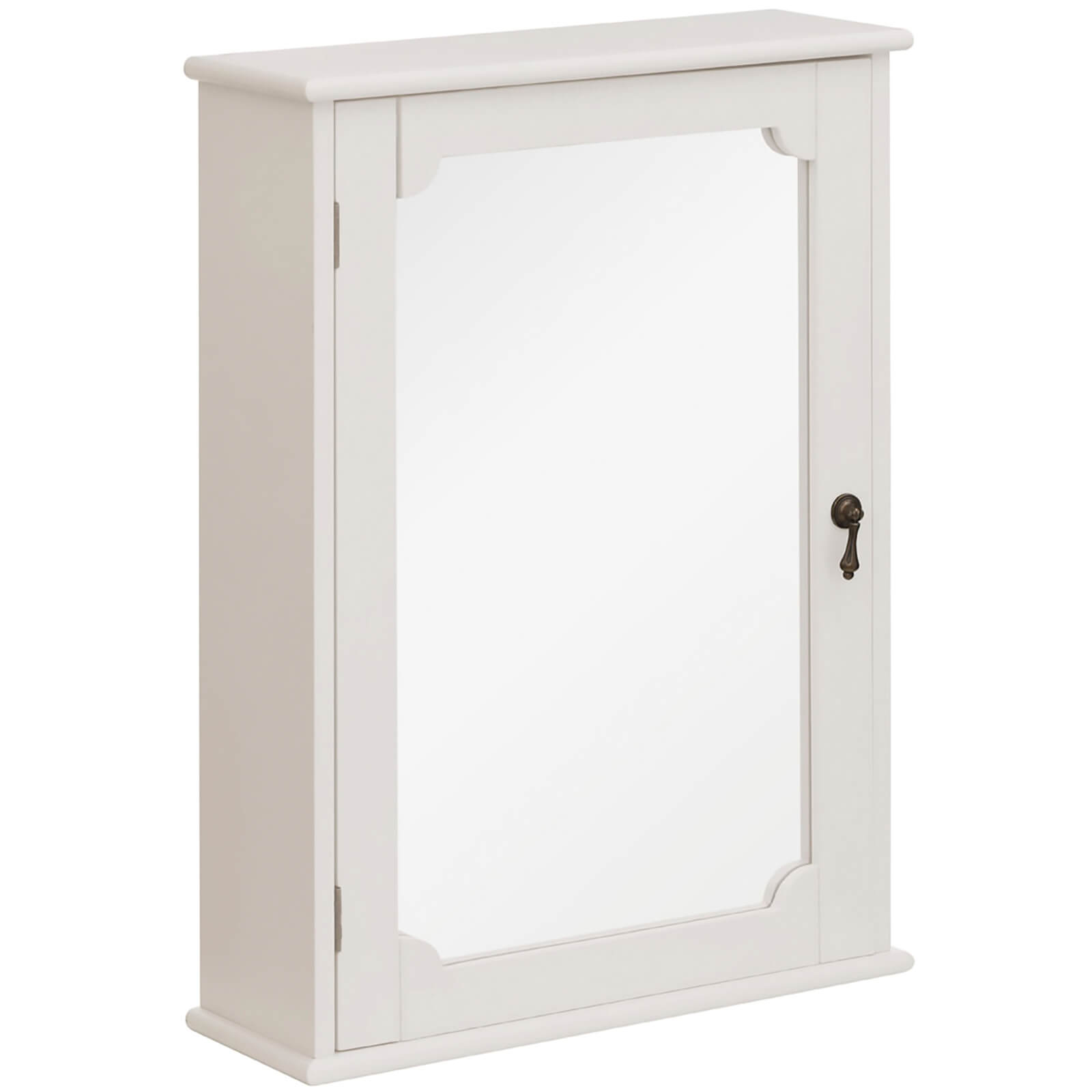 Marcella Wall Cabinet - Mirror/Ivory