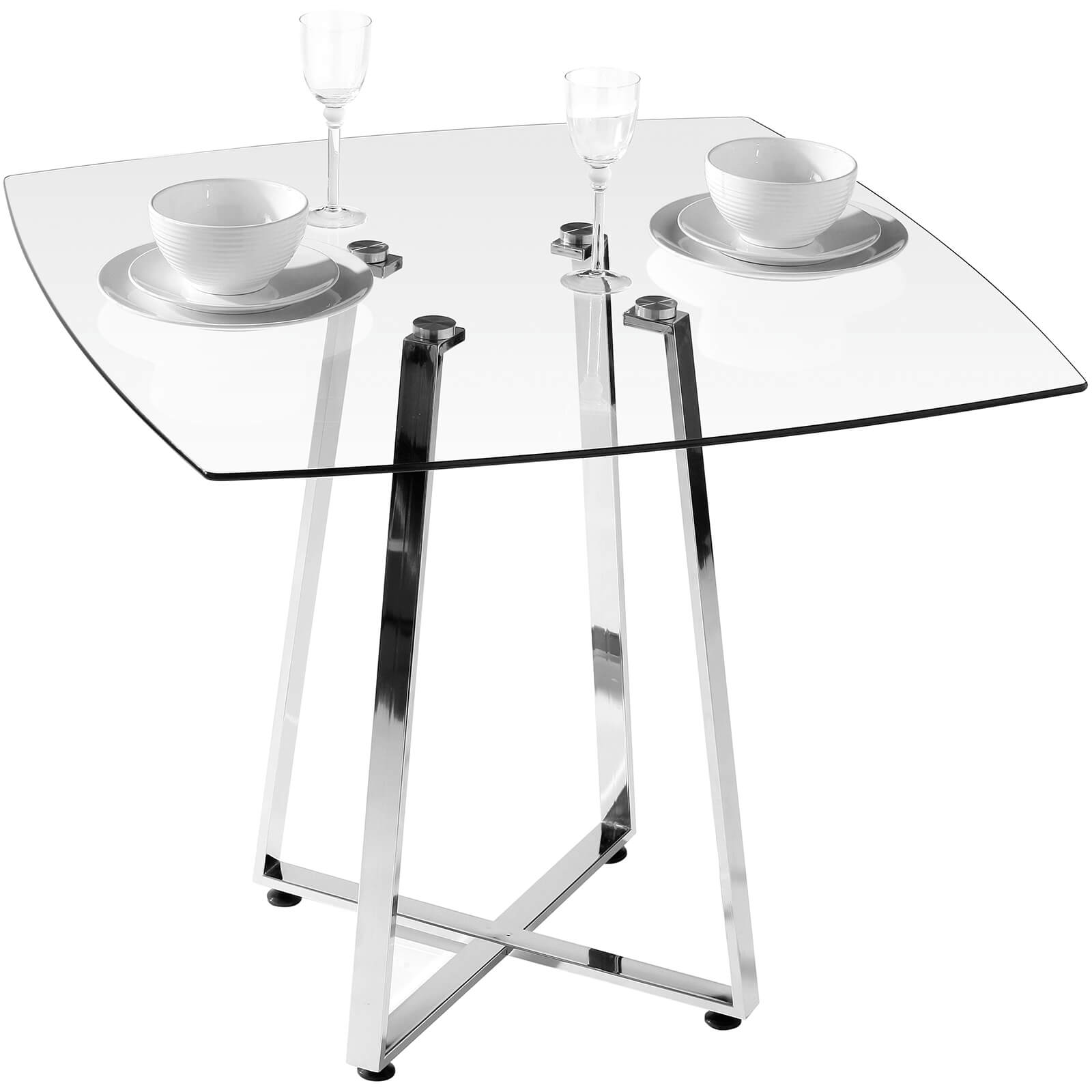 Metropolitan Dining Table - Glass