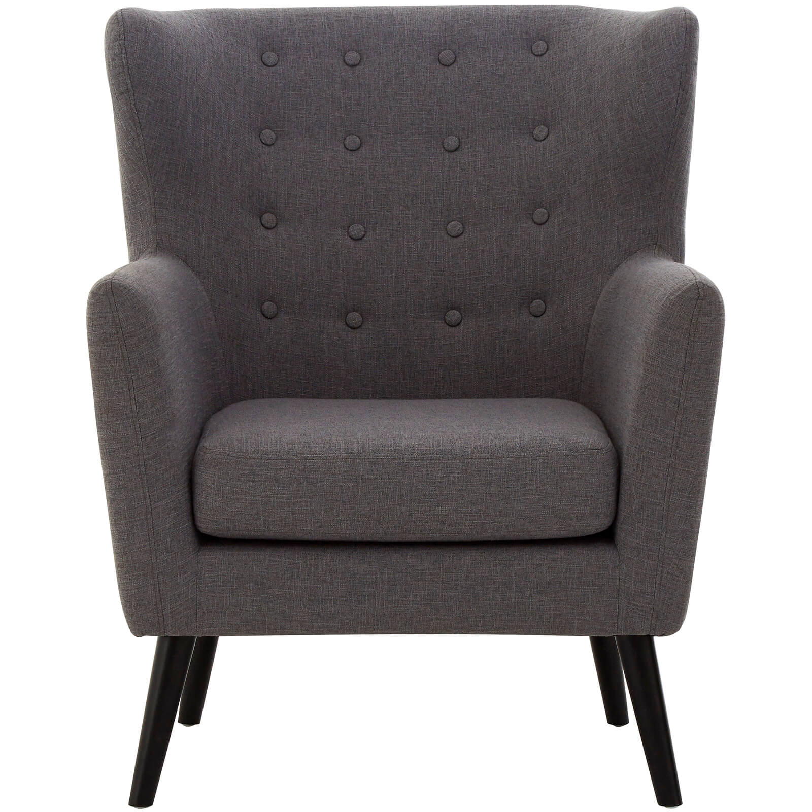 Odense Arm Chair - Grey/Black