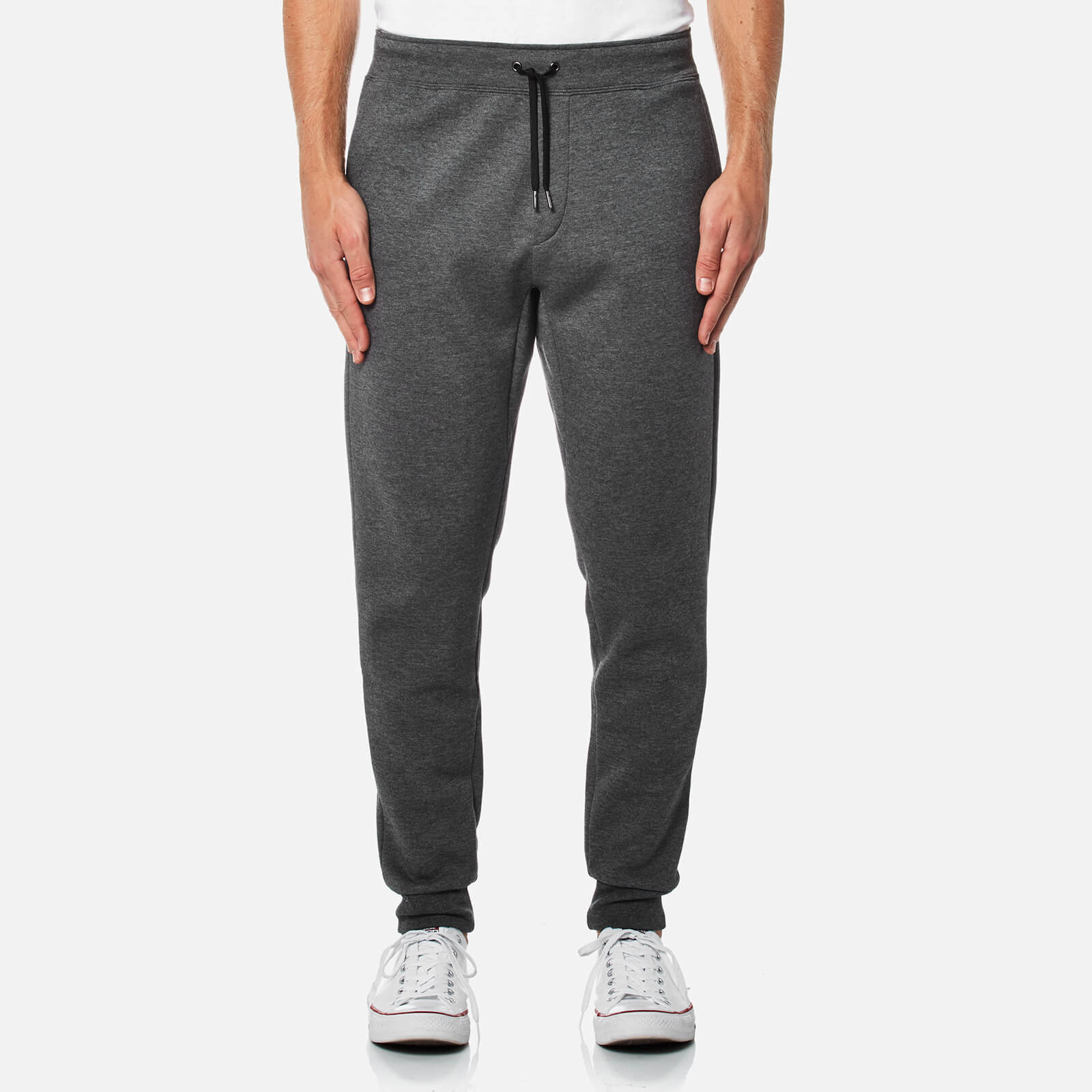 583f4a01ef8a Polo Ralph Lauren Men s Double Knit Tech Pants - Charcoal - Free UK  Delivery over £50