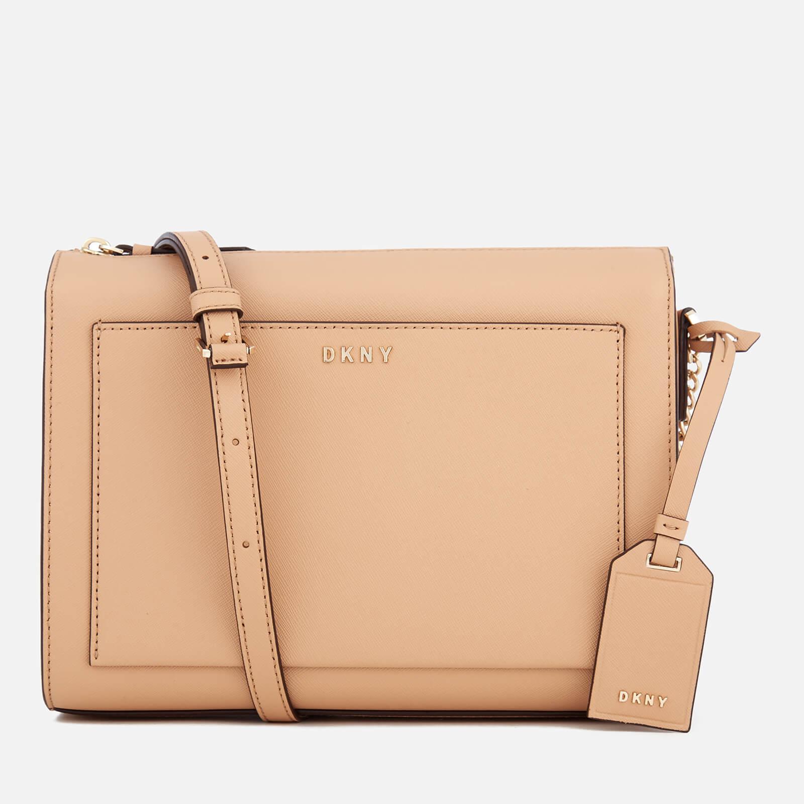 41245bc71655 DKNY Women s Bryant Park Medium Box Cross Body Bag - Tea - Free UK ...