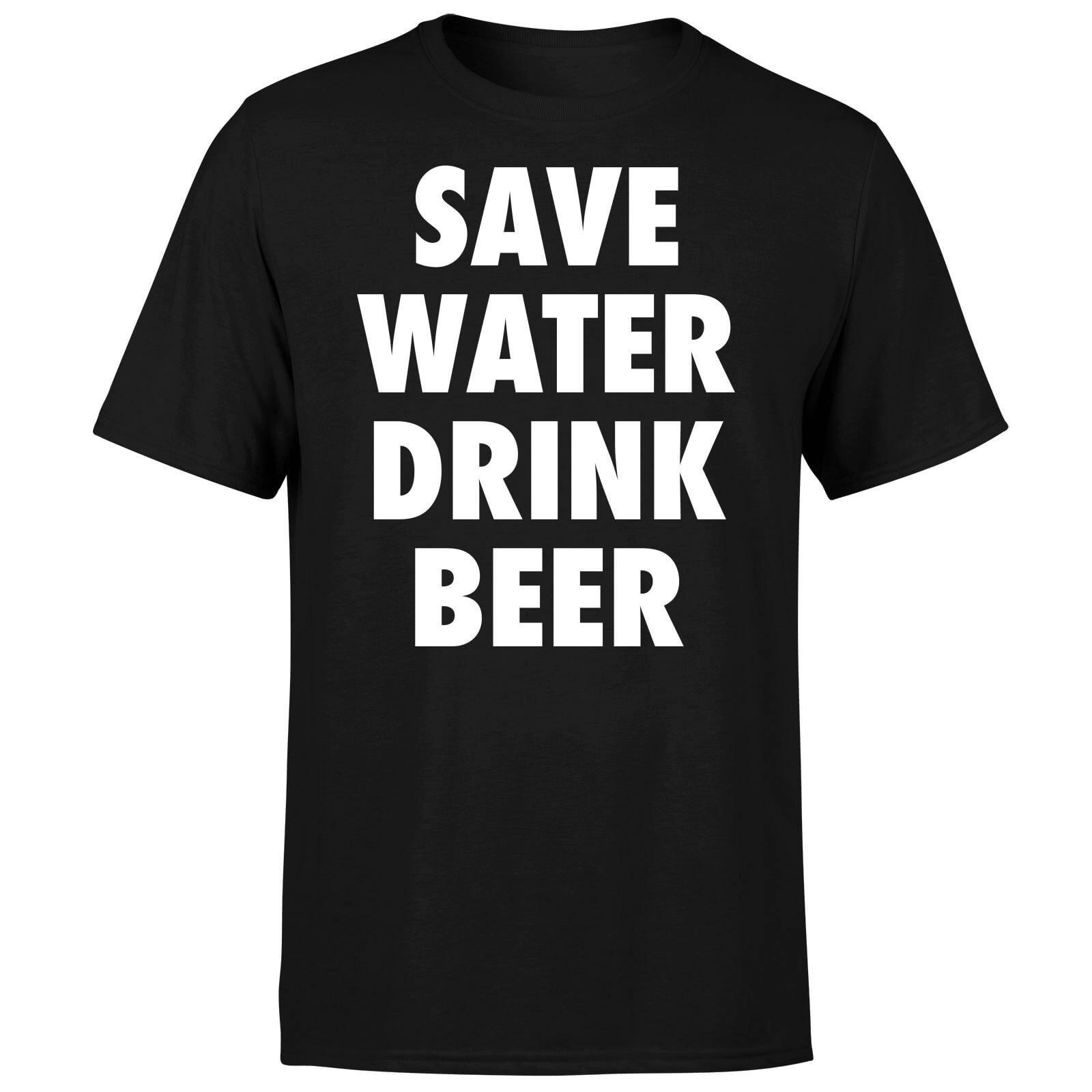 Beershield Save Water Drink Beer Men