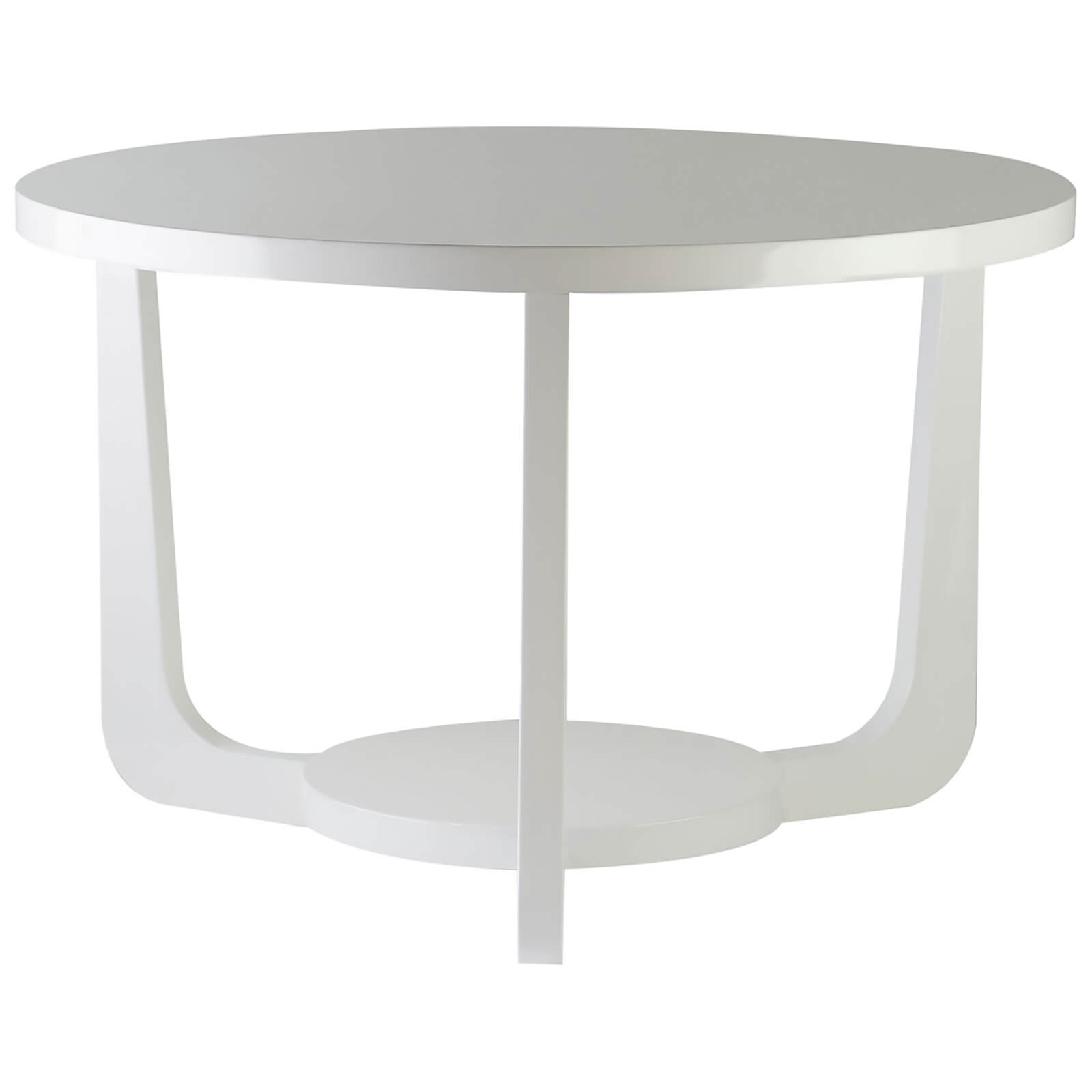 Fifty Five South Side Table - White High Gloss