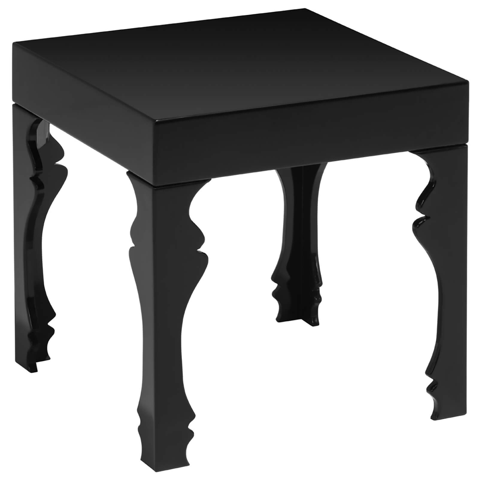 Fifty Five South Luis Side Table - Black High Gloss