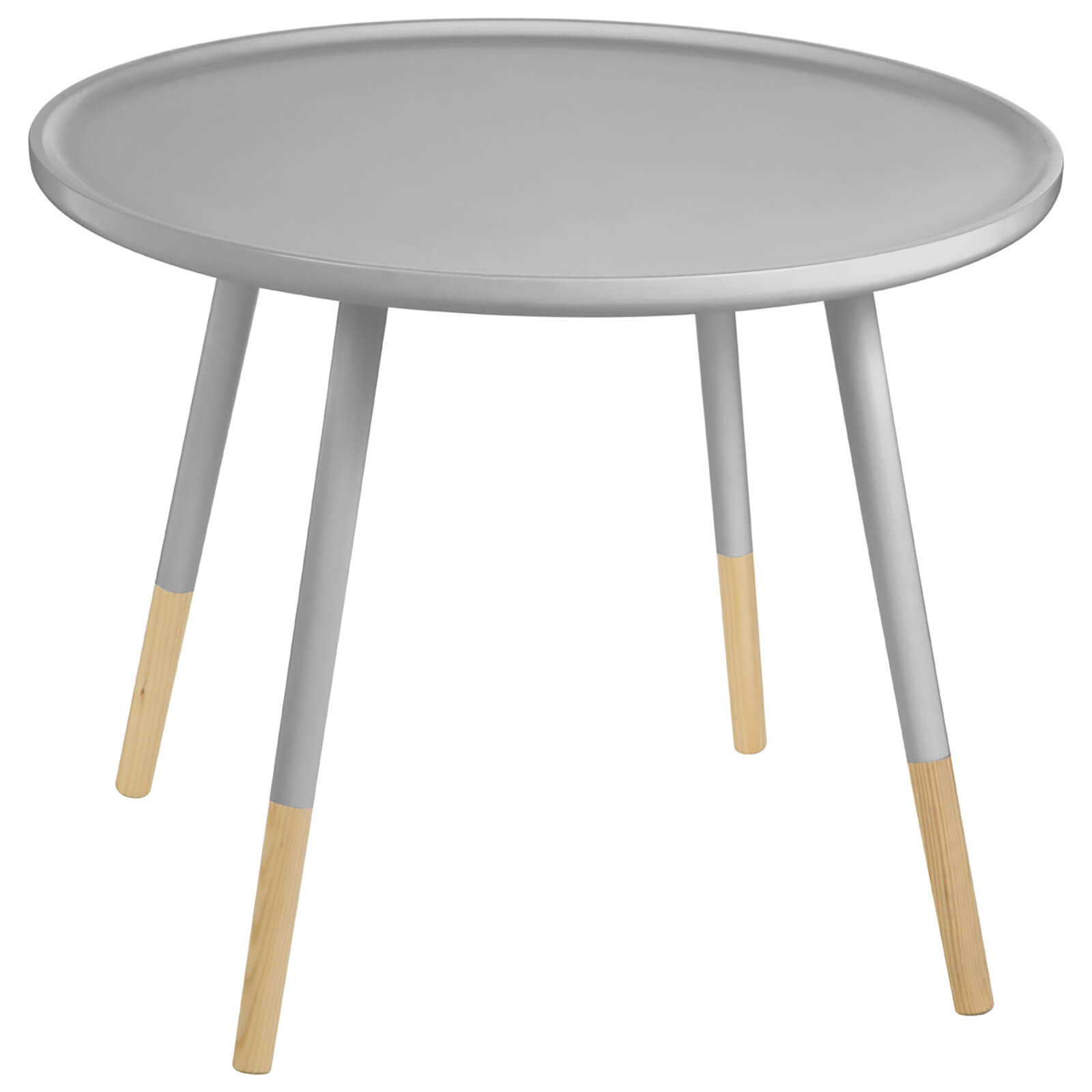 Fifty Five South Viborg Round Side Table - Grey