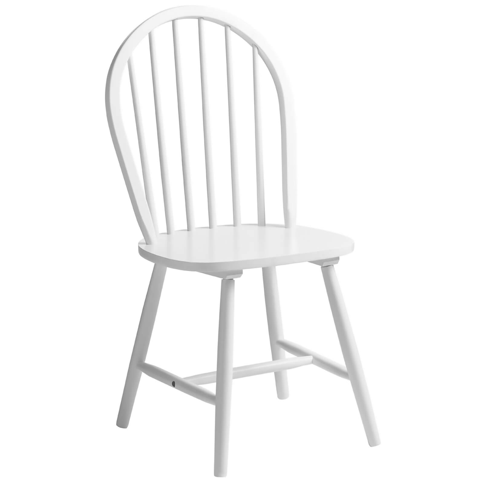Fifty Five South Vermont Boston Chair - White Wood
