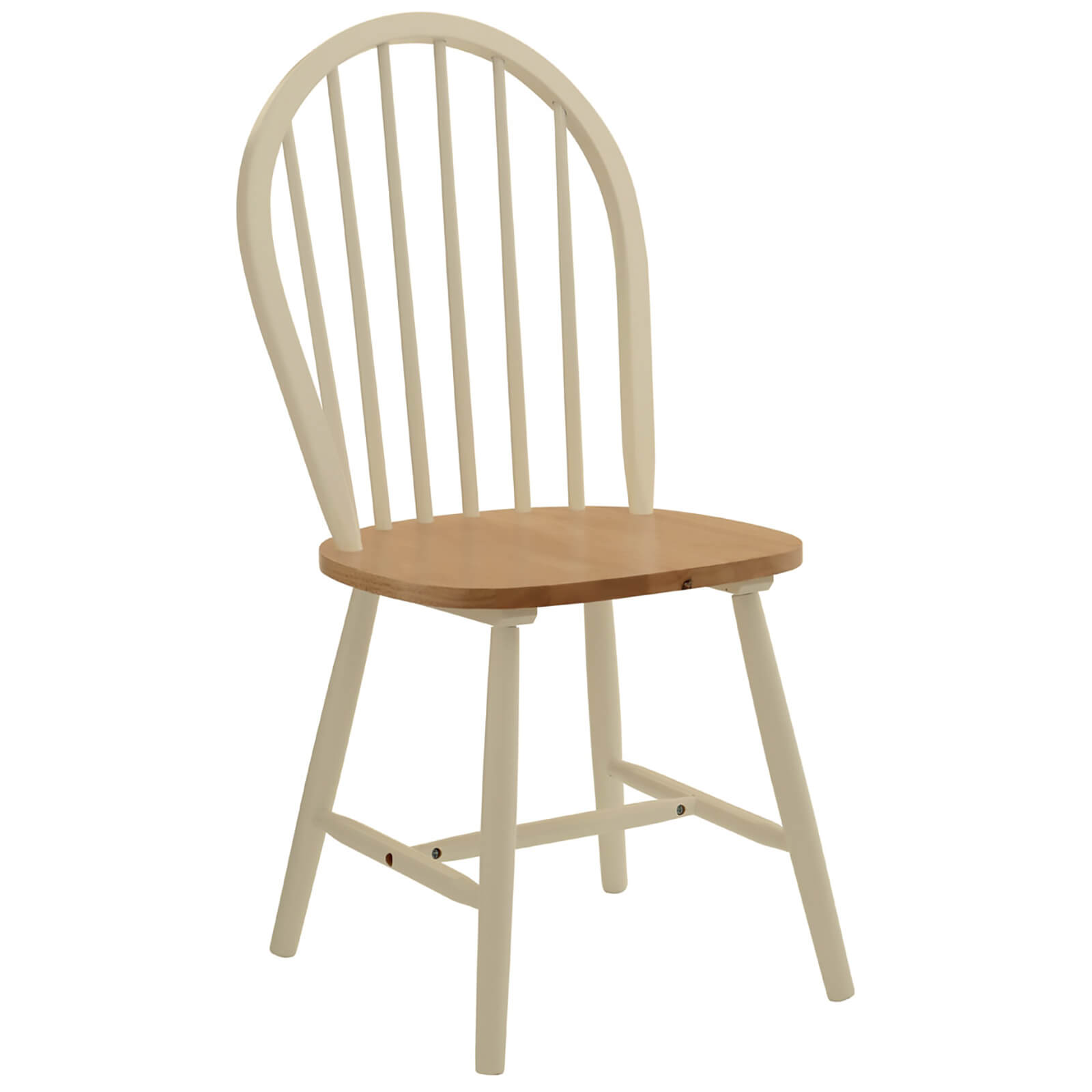 Fifty Five South Vermont Oakland Chair (5 Piece) - Oak/Ivory