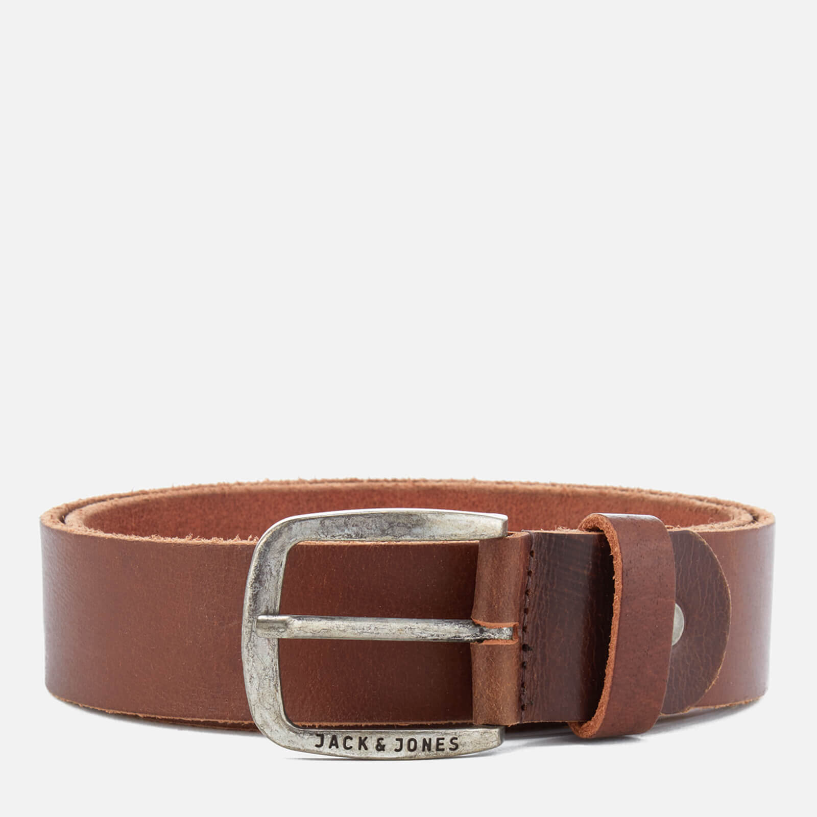 Ceinture Cuir Homme Paul Jack & Jones - Marron