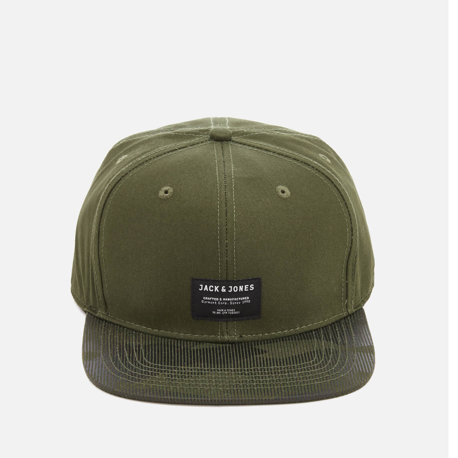 Jack   Jones Core Men s Camon Snapback Cap - Rifle Green Clothing ... e31af621116