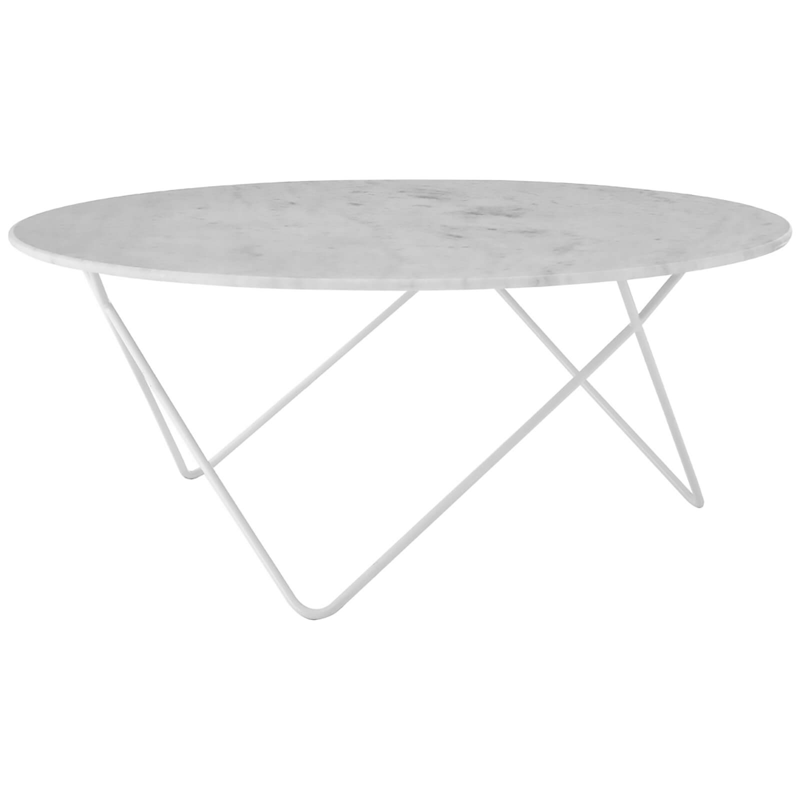 Fifty Five South Boho Round Coffee Table - Marble