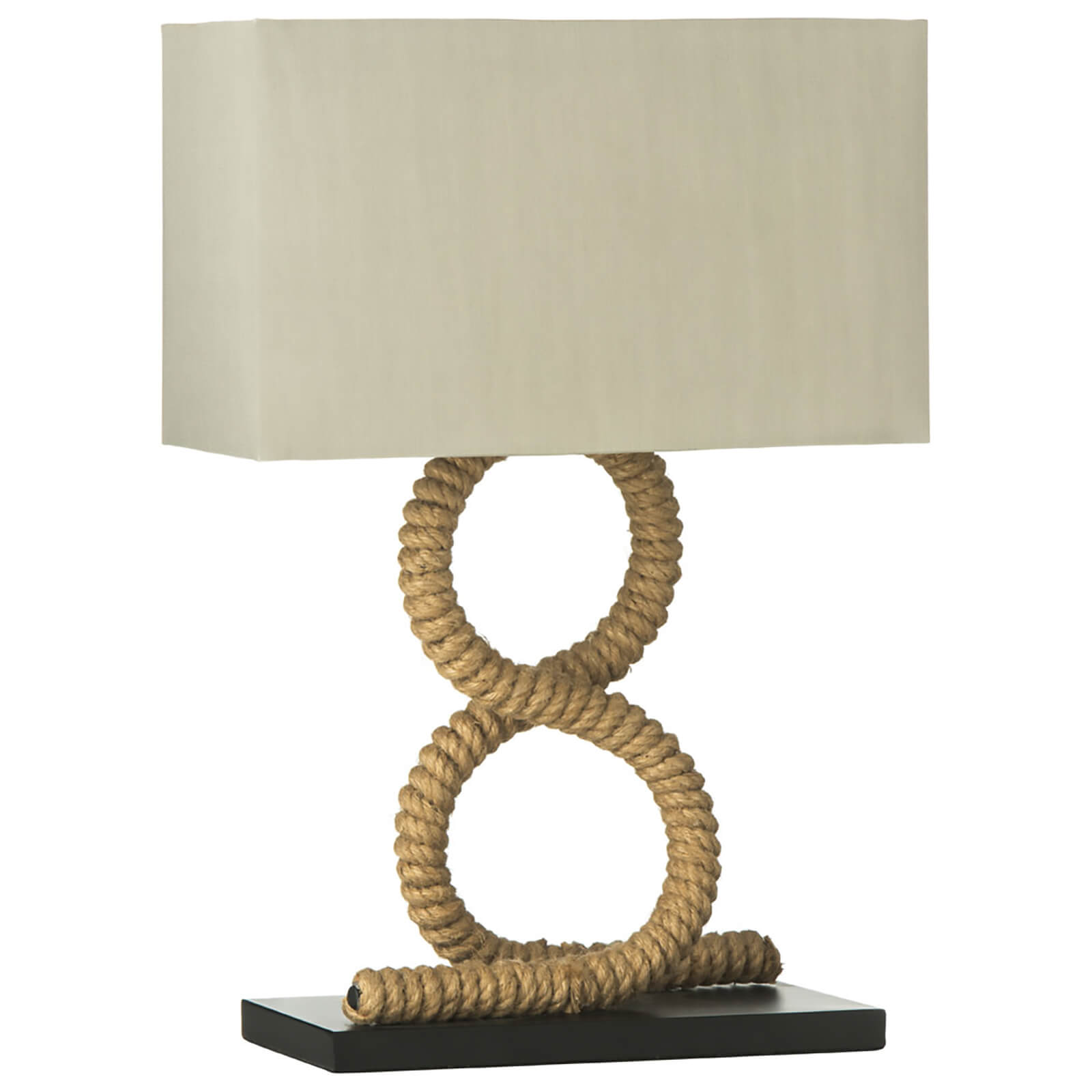 Fifty Five South Maine Table Lamp - Flax